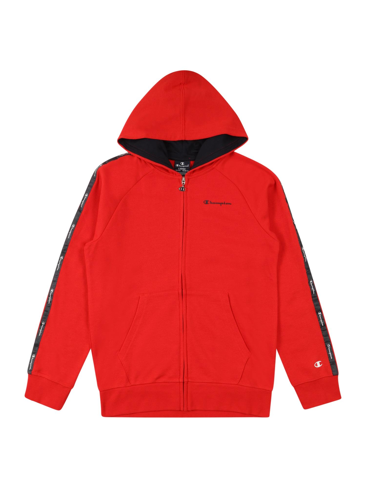 Champion Authentic Athletic Apparel Džemperis raudona / tamsiai mėlyna / balta