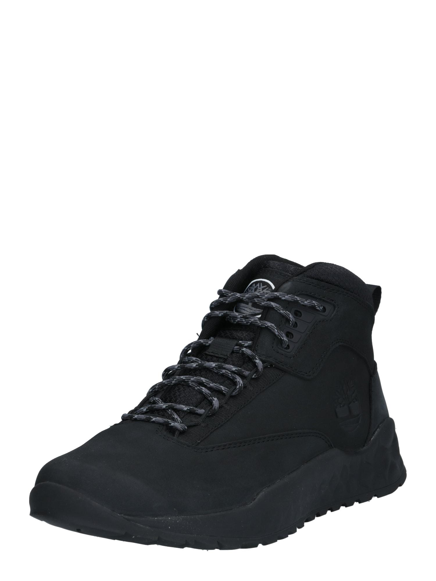 TIMBERLAND Sportinio stiliaus batai su raišteliais juoda
