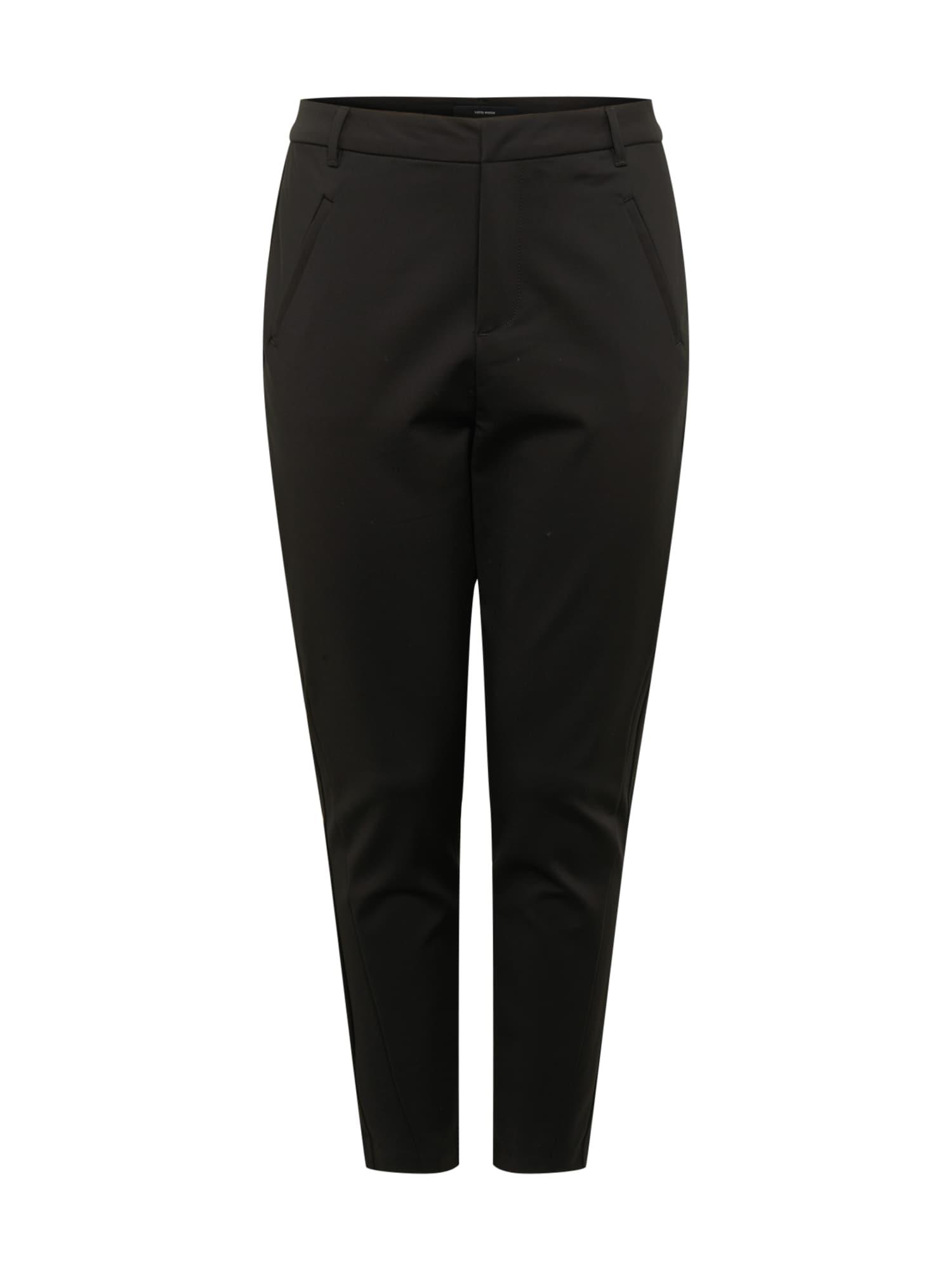 Vero Moda Curve Chino kalhoty 'VICTORIA'  černá