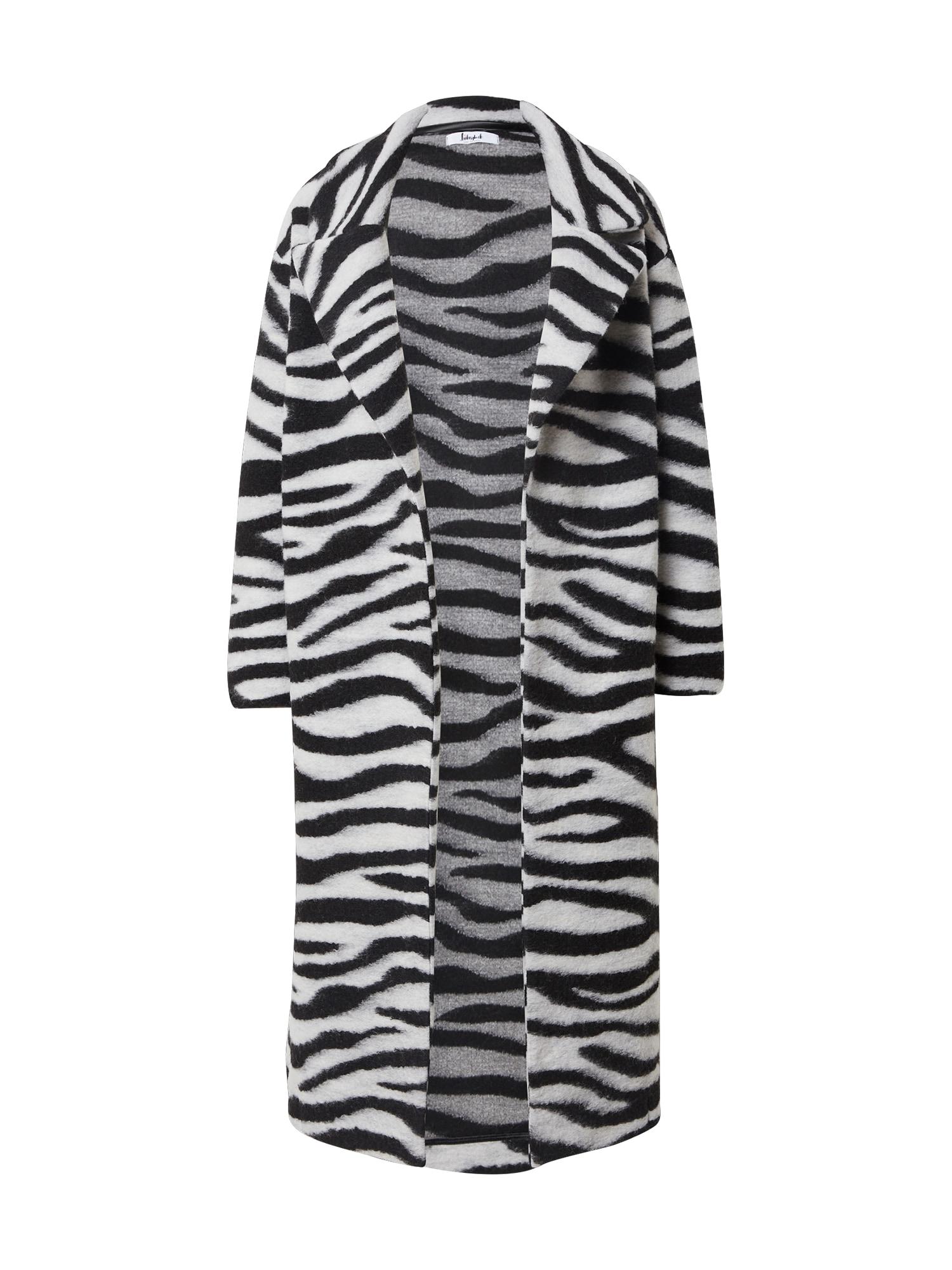 Liebesglück Demisezoninis paltas pilka / juoda