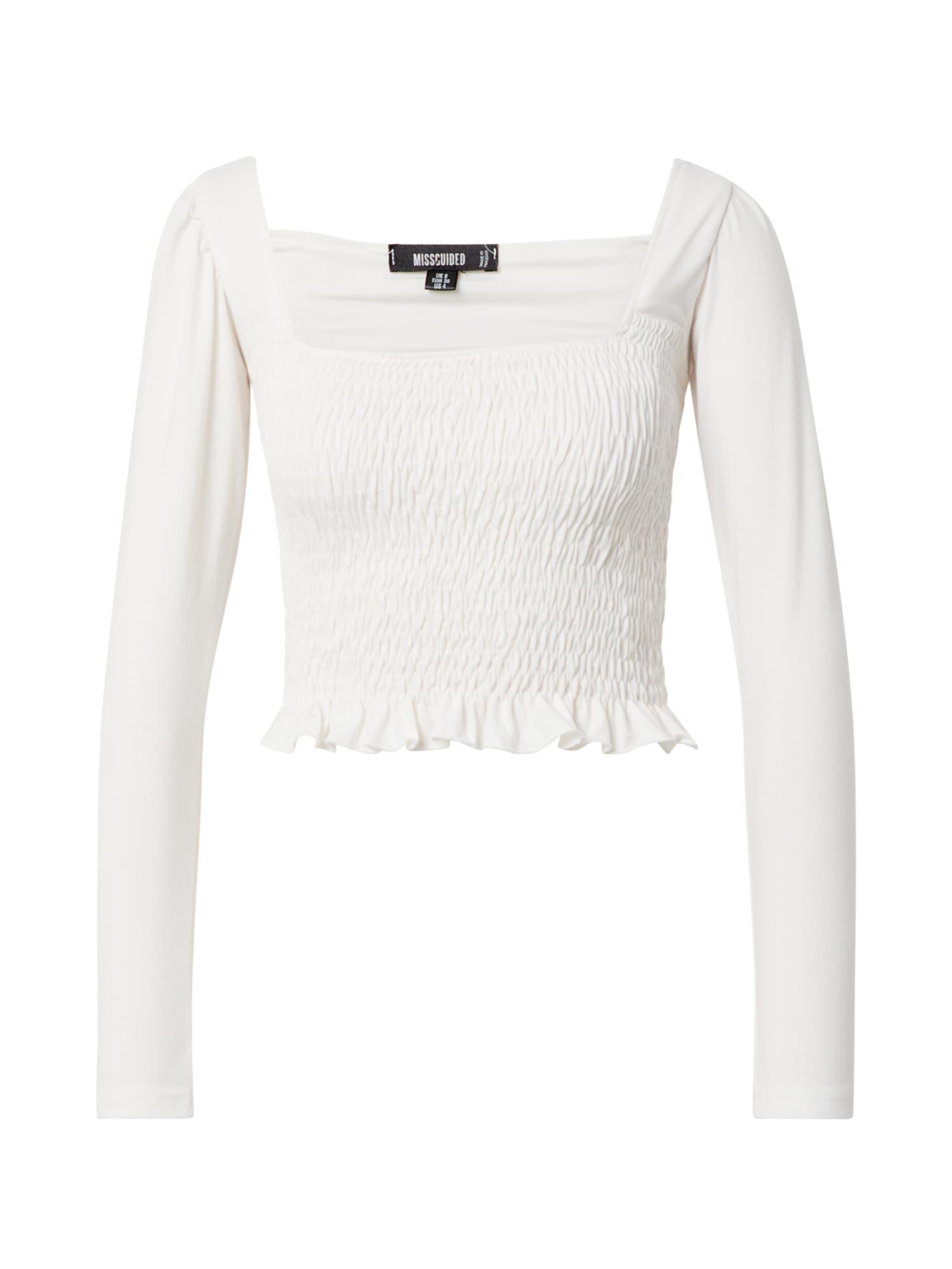 Missguided Marškinėliai balta