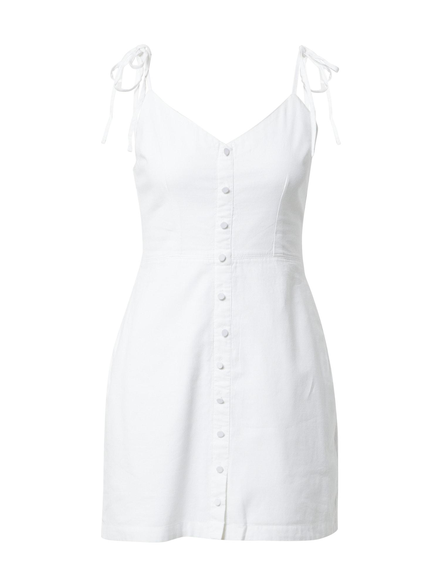 Abercrombie & Fitch Vasarinė suknelė balta