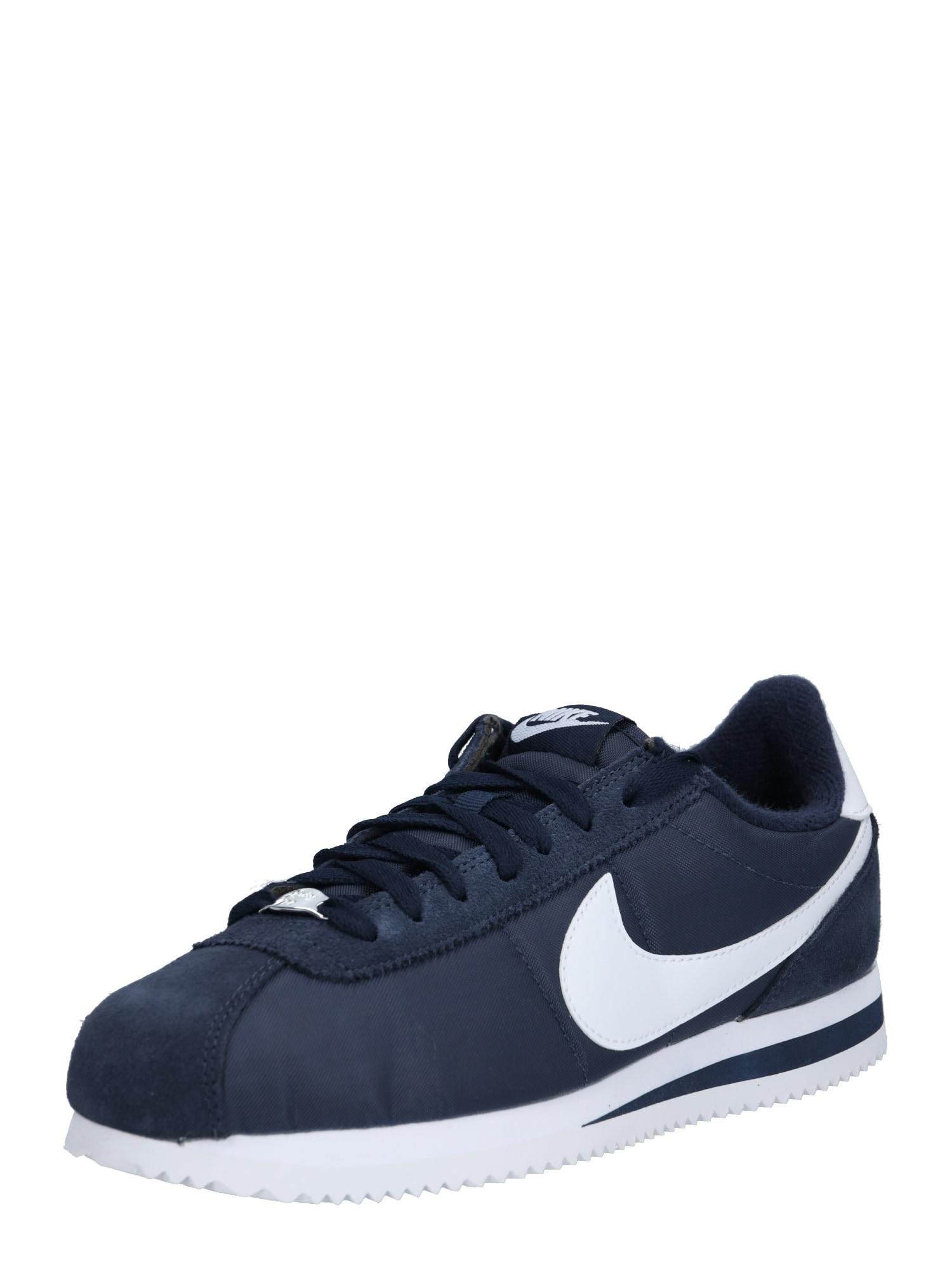 Nike Sportswear Nízke tenisky  biela / námornícka modrá