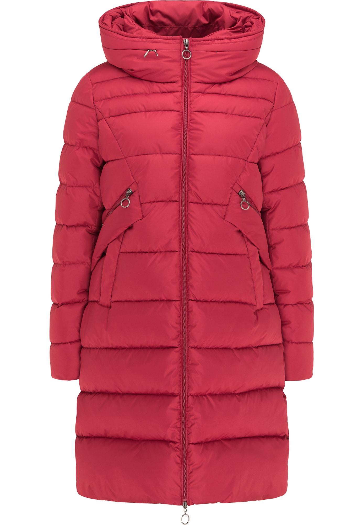DreiMaster Maritim Žieminis paltas tamsiai rožinė