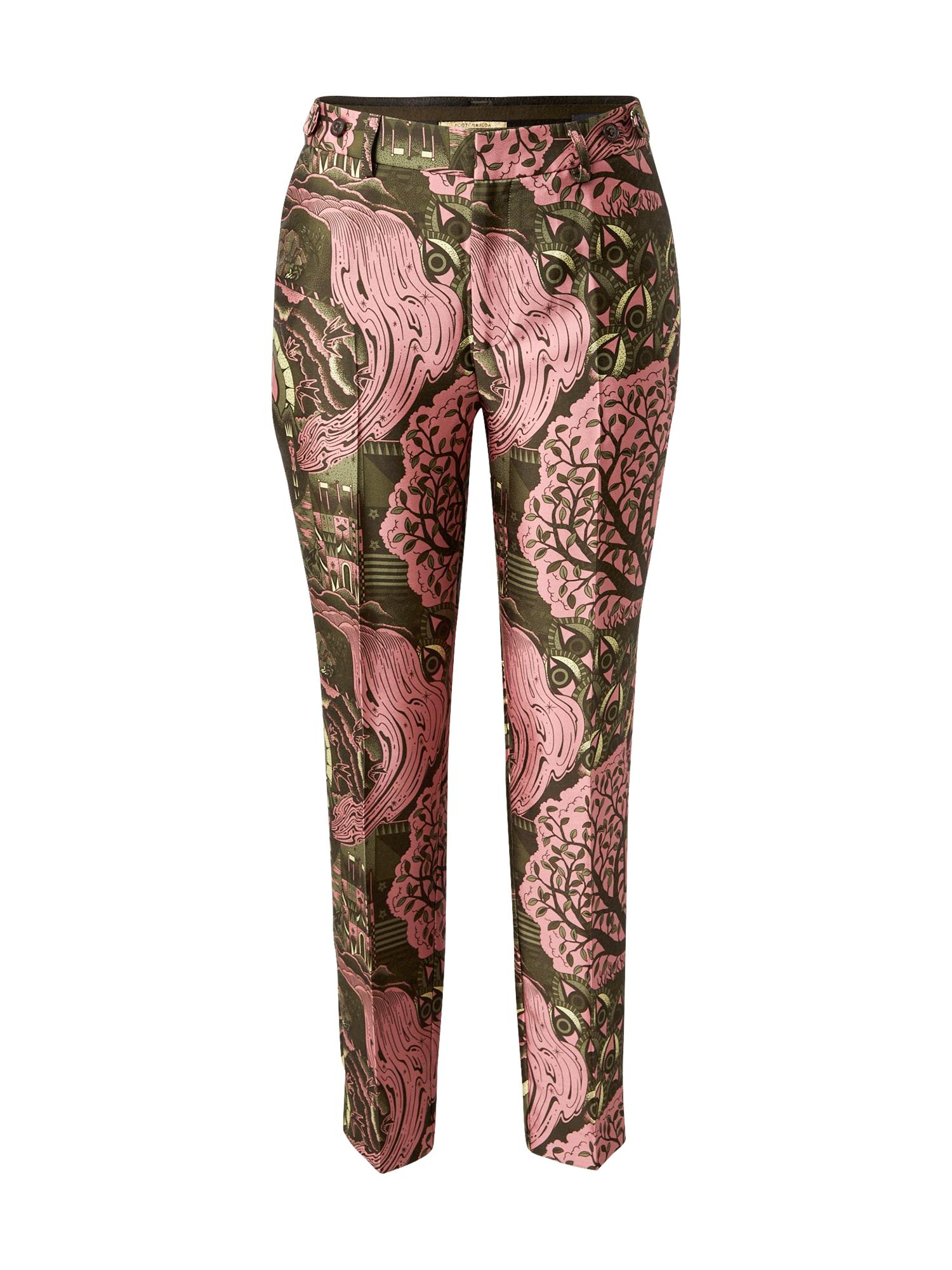 SCOTCH & SODA Kelnės su kantu mišrios spalvos