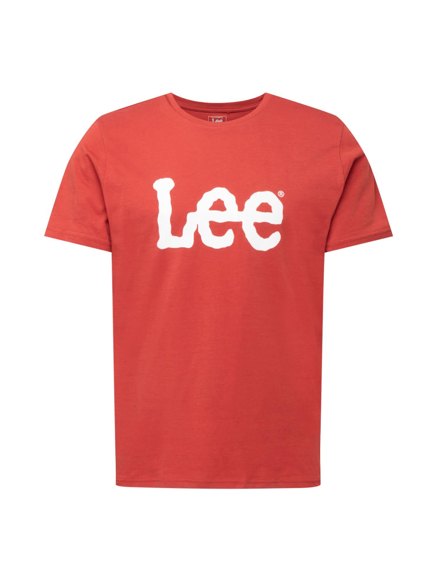 Lee Marškinėliai raudona