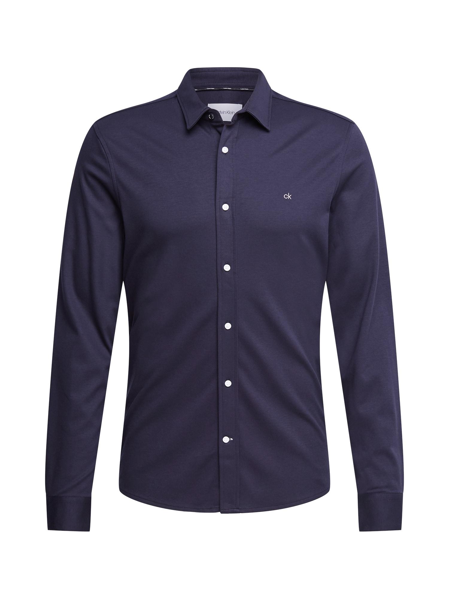 Calvin Klein Marškiniai tamsiai mėlyna