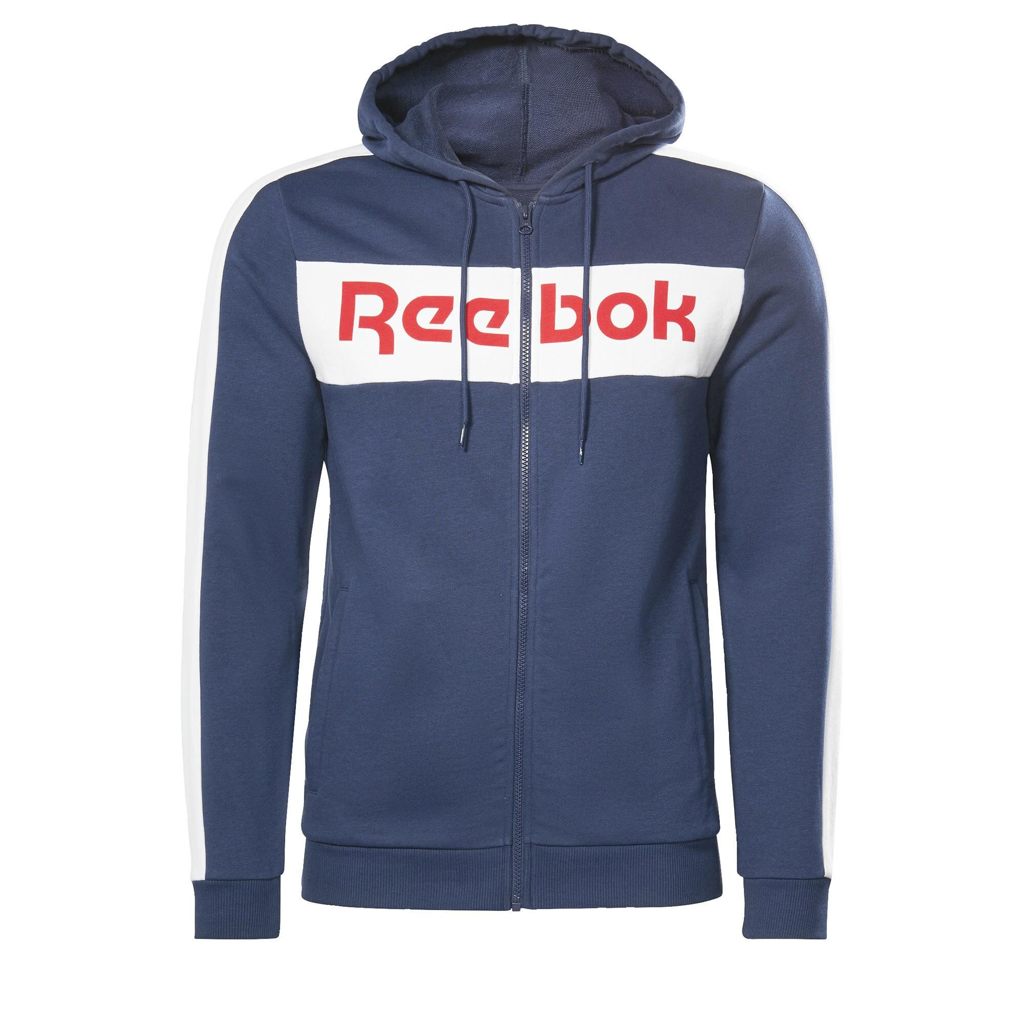 Reebok Classics Džemperis tamsiai mėlyna / balta / raudona