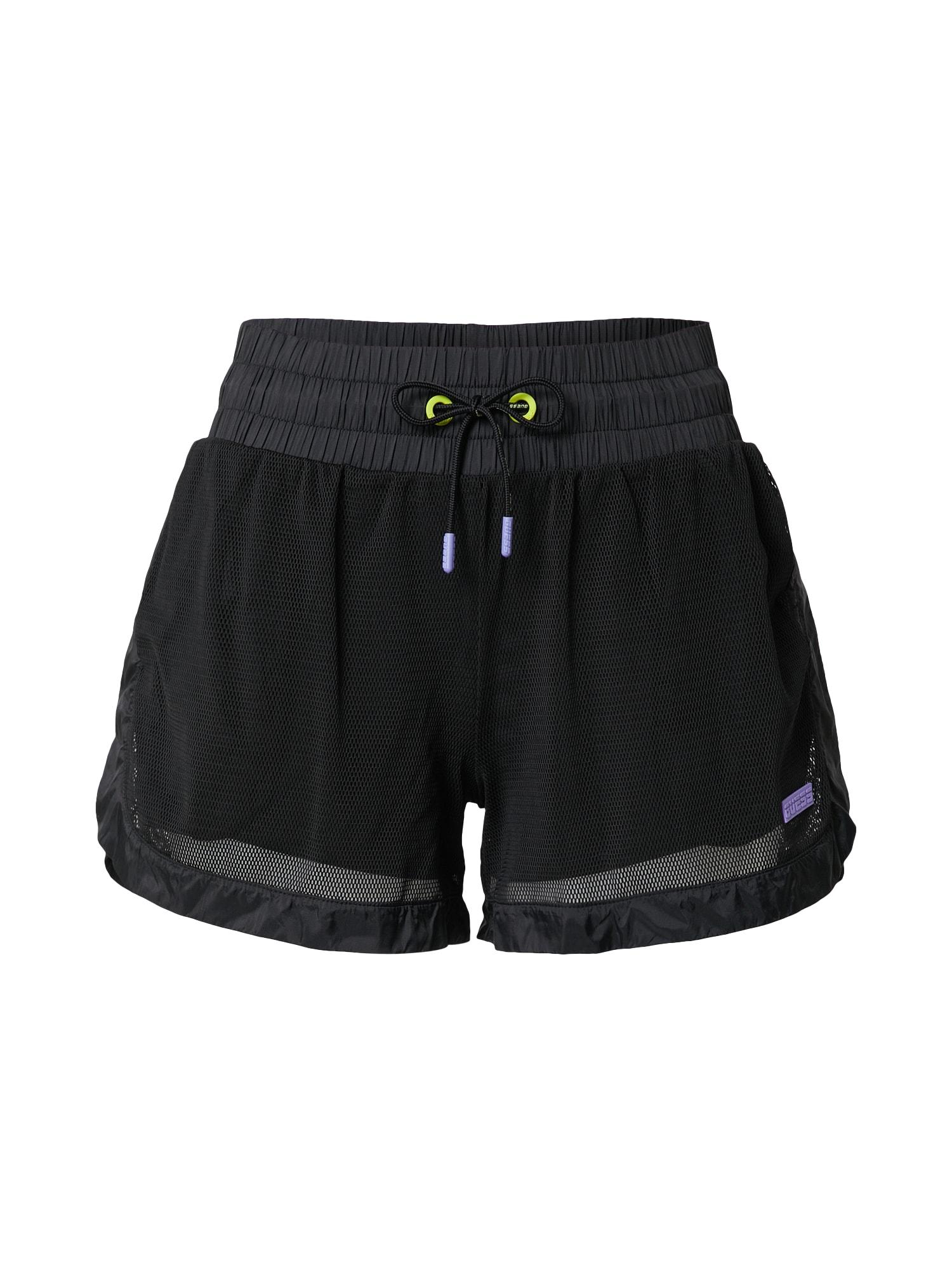 GUESS Sportinės kelnės juoda