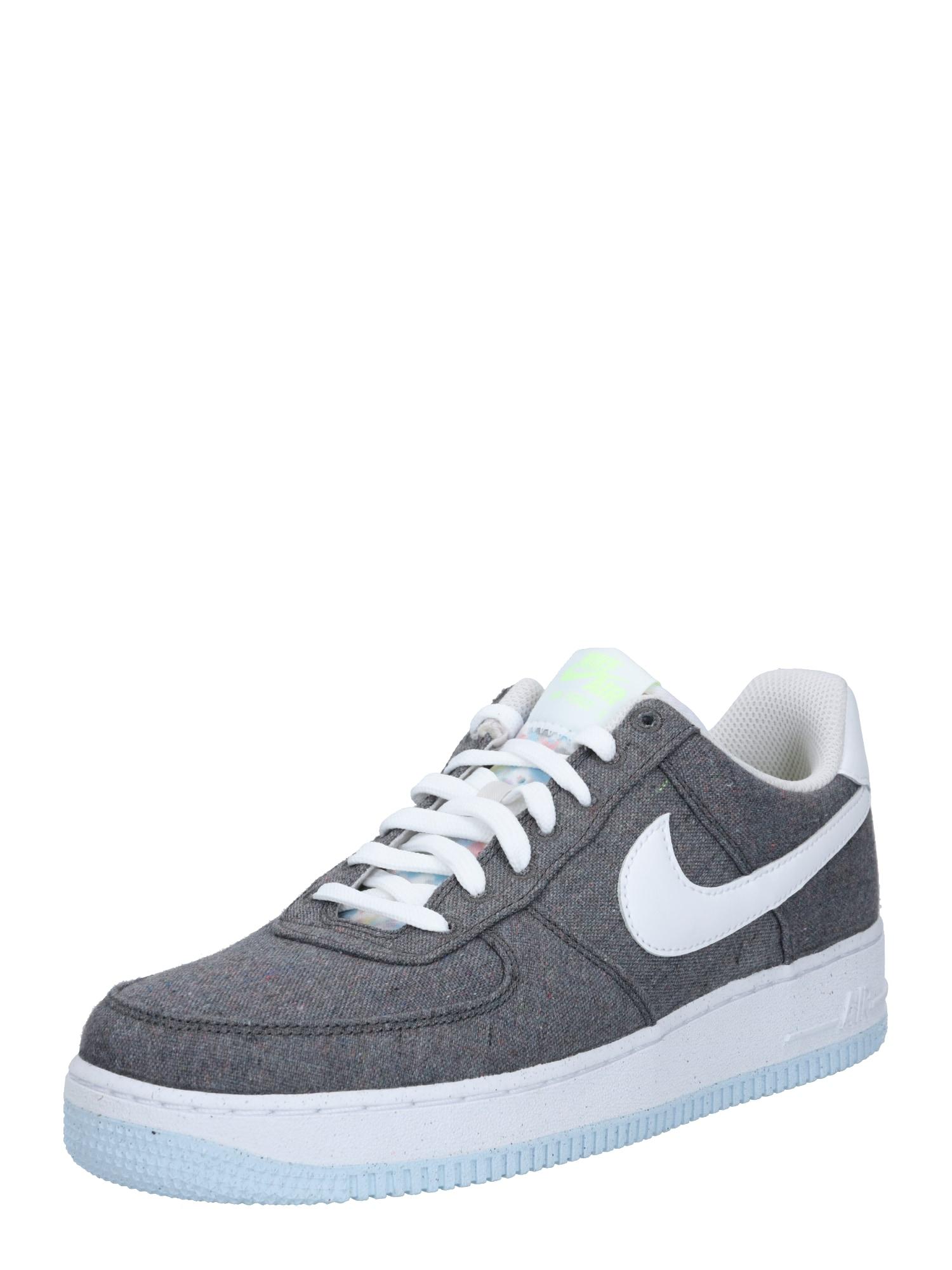 Nike Sportswear Tenisky 'Force 1 '07'  bílá / šedá