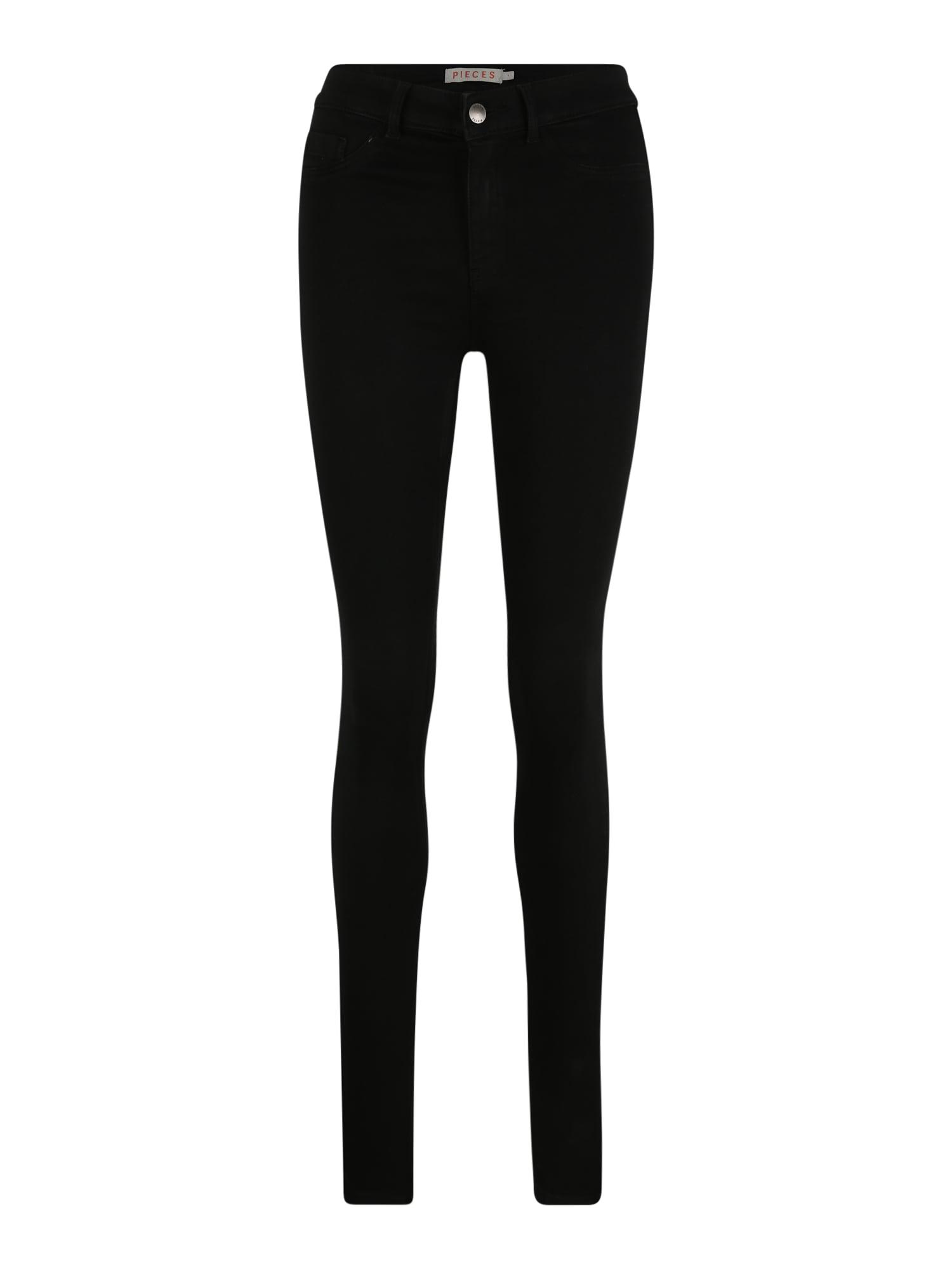 Pieces (Tall) Džinsai juoda