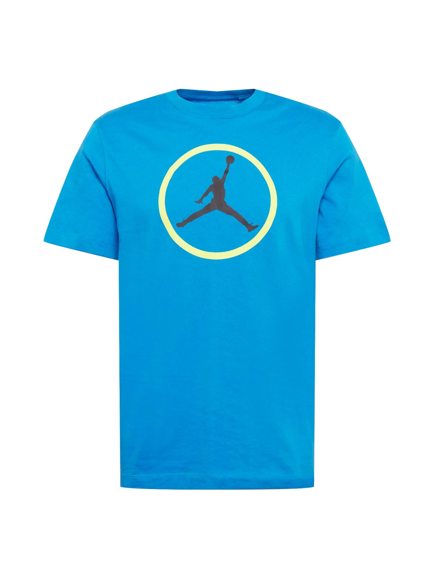 """Jordan Marškinėliai sodri mėlyna (""""karališka"""") / juoda / balta / šviesiai geltona"""