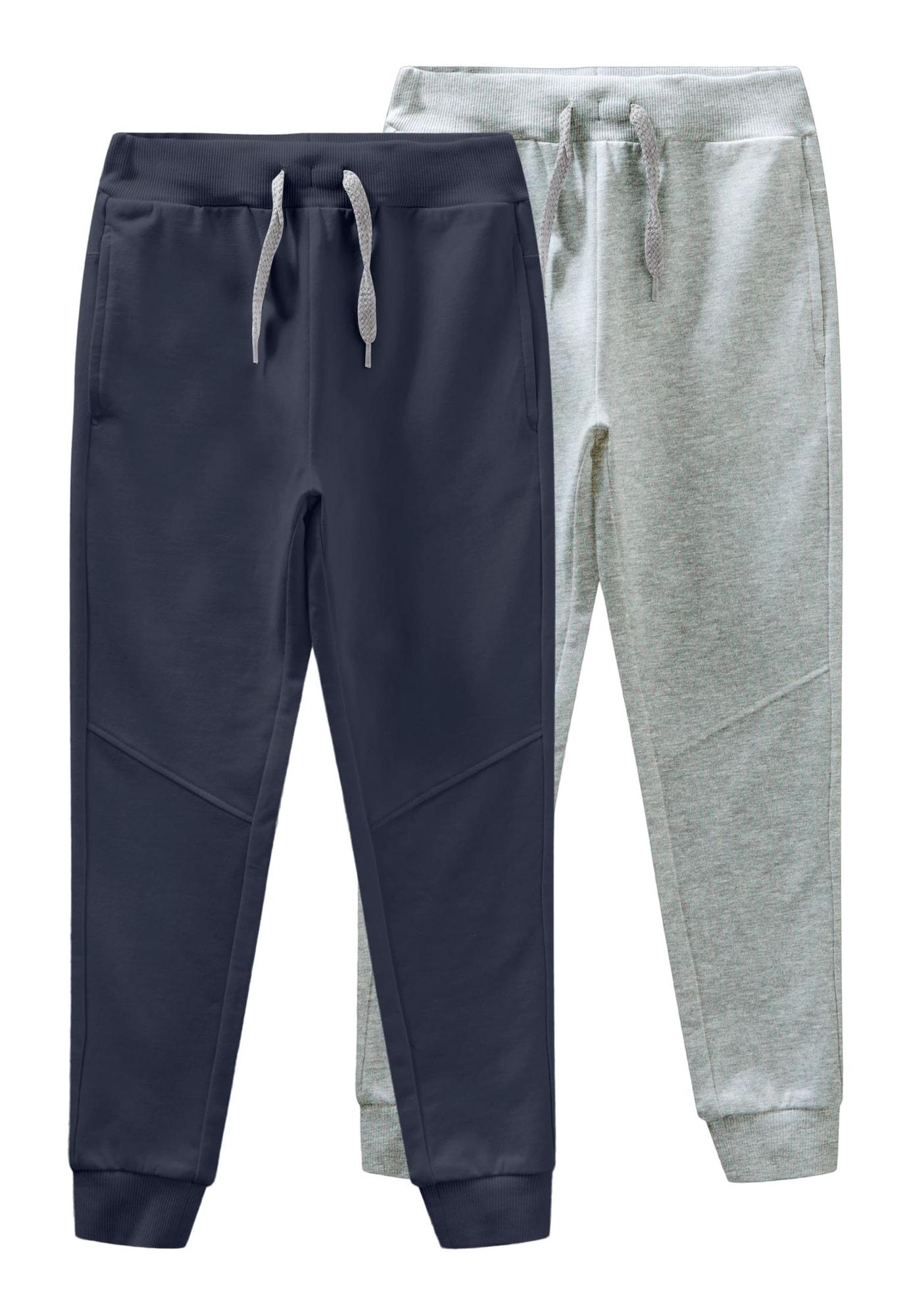 NAME IT Kalhoty 'Voltano'  noční modrá / šedá