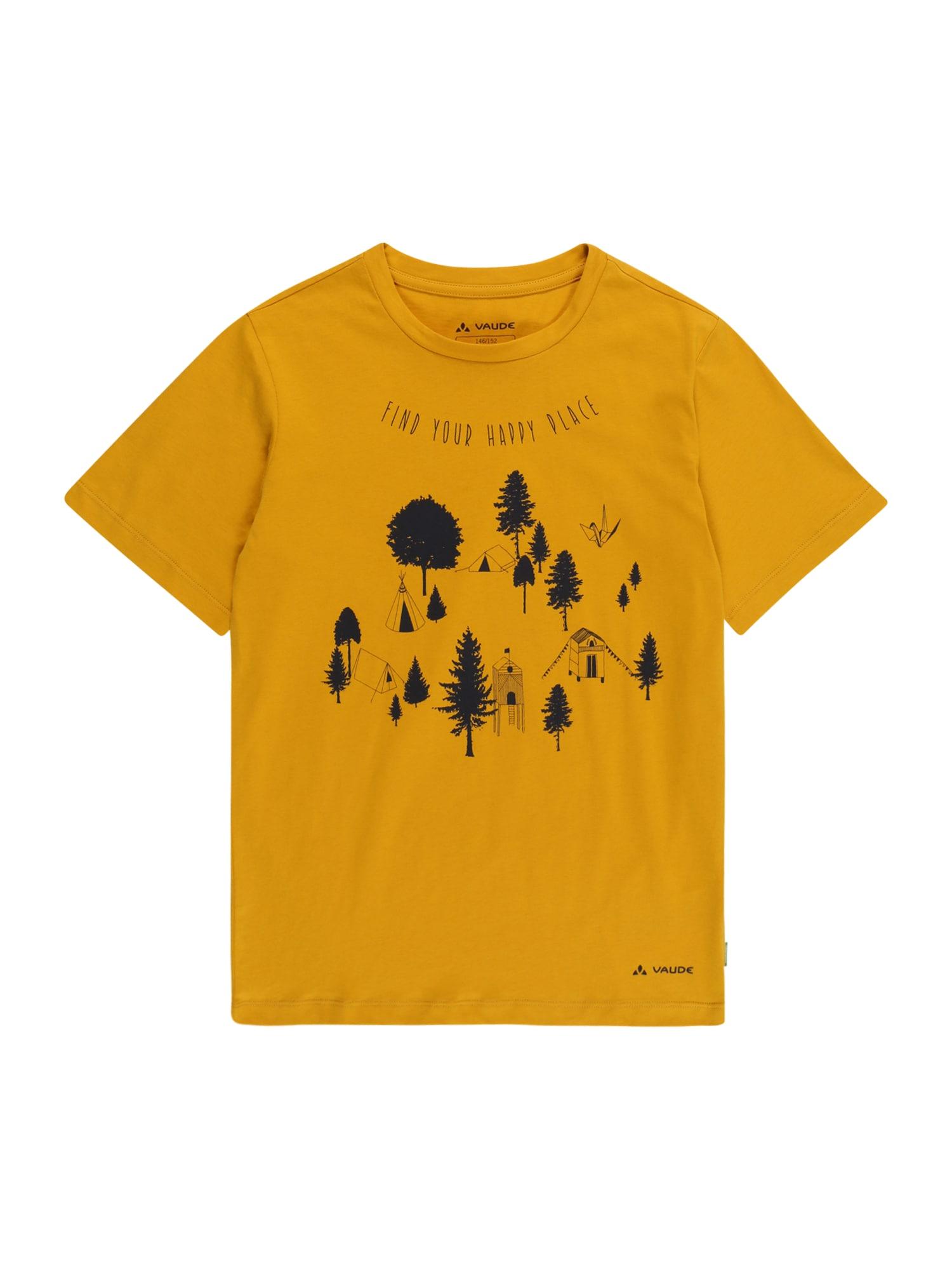 VAUDE Marškinėliai geltona