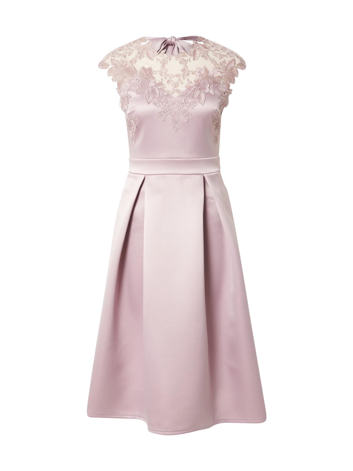 Lipsy Kokteilinė suknelė pastelinė violetinė