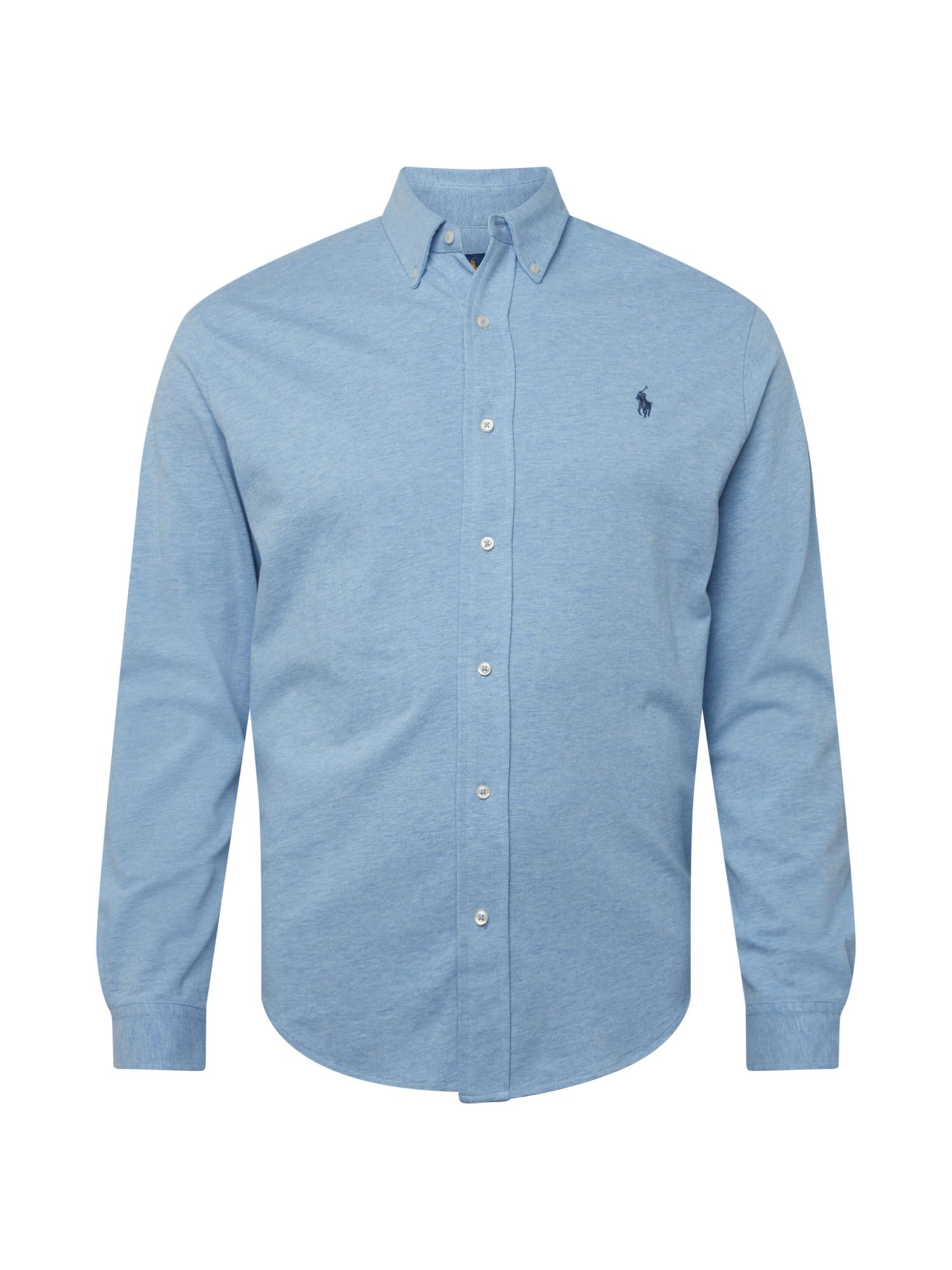 Polo Ralph Lauren Big & Tall Marškiniai mėlyna dūmų spalva