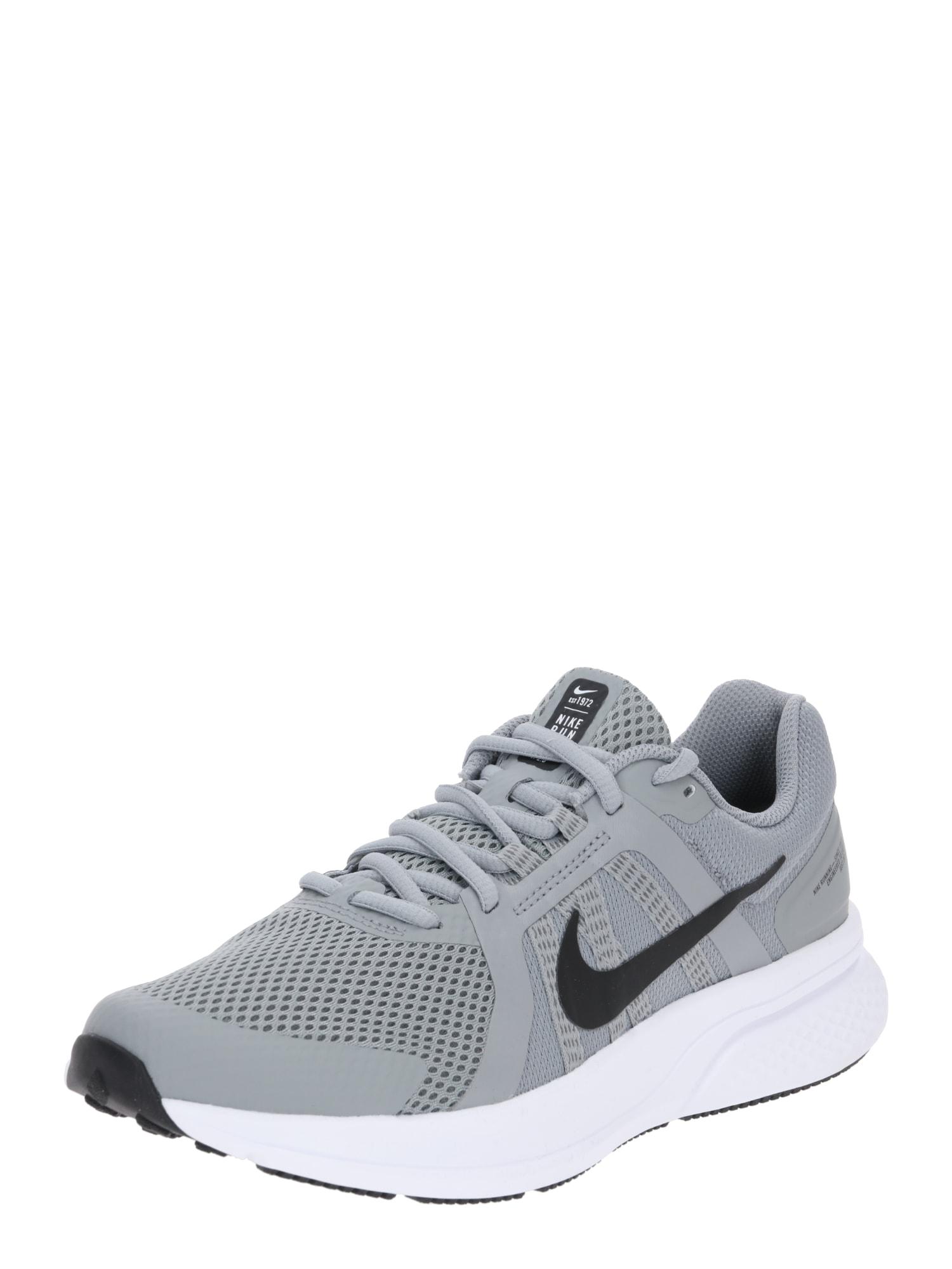 NIKE Běžecká obuv 'Run Swift 2'  světle šedá / černá