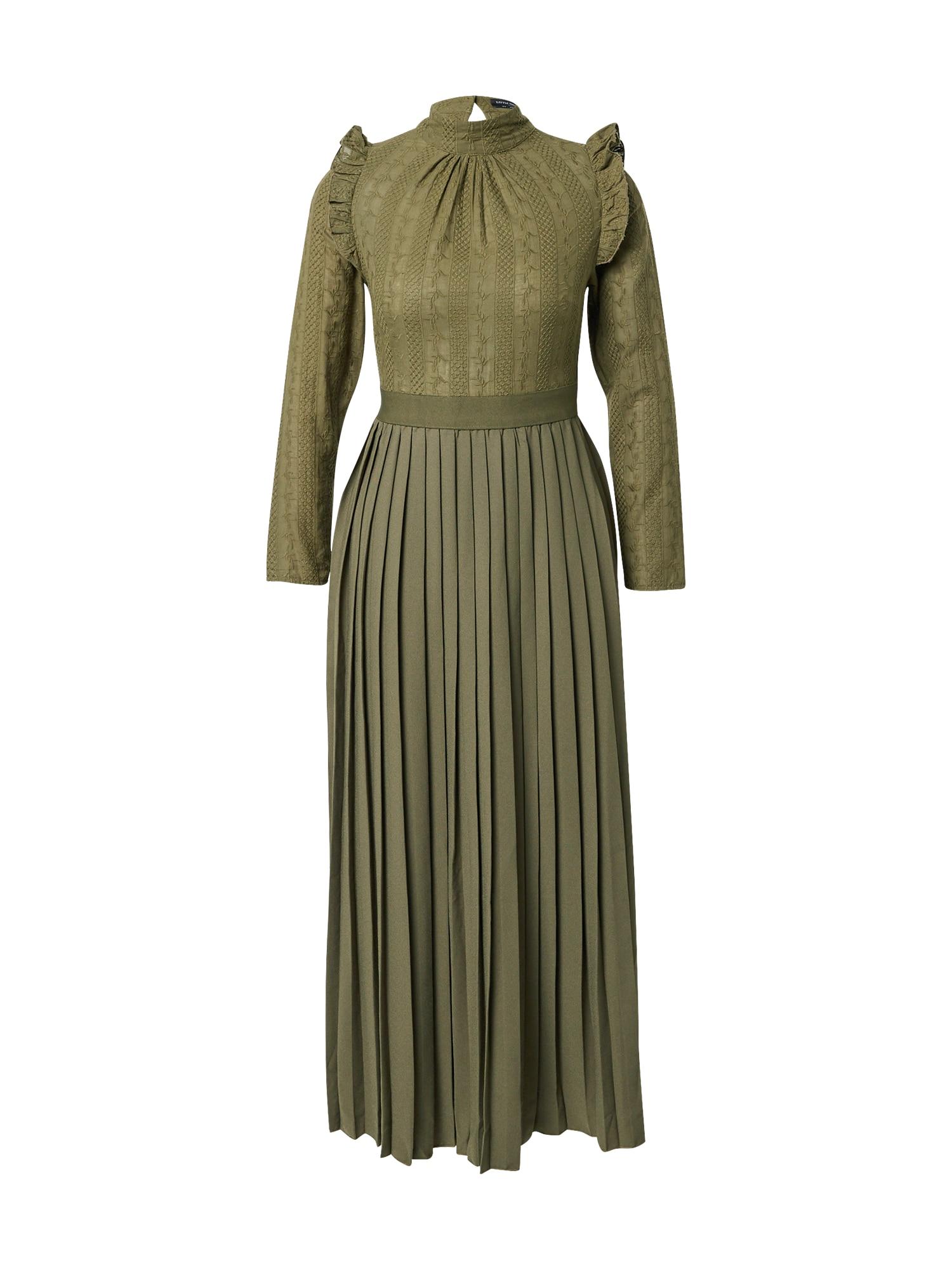Little Mistress Palaidinės tipo suknelė rusvai žalia
