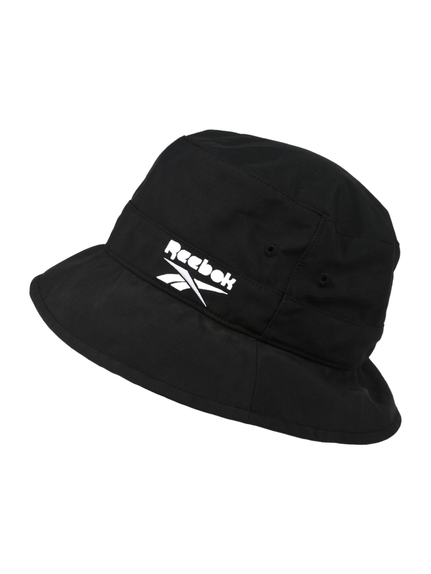Reebok Classic Skrybėlaitė juoda / balta
