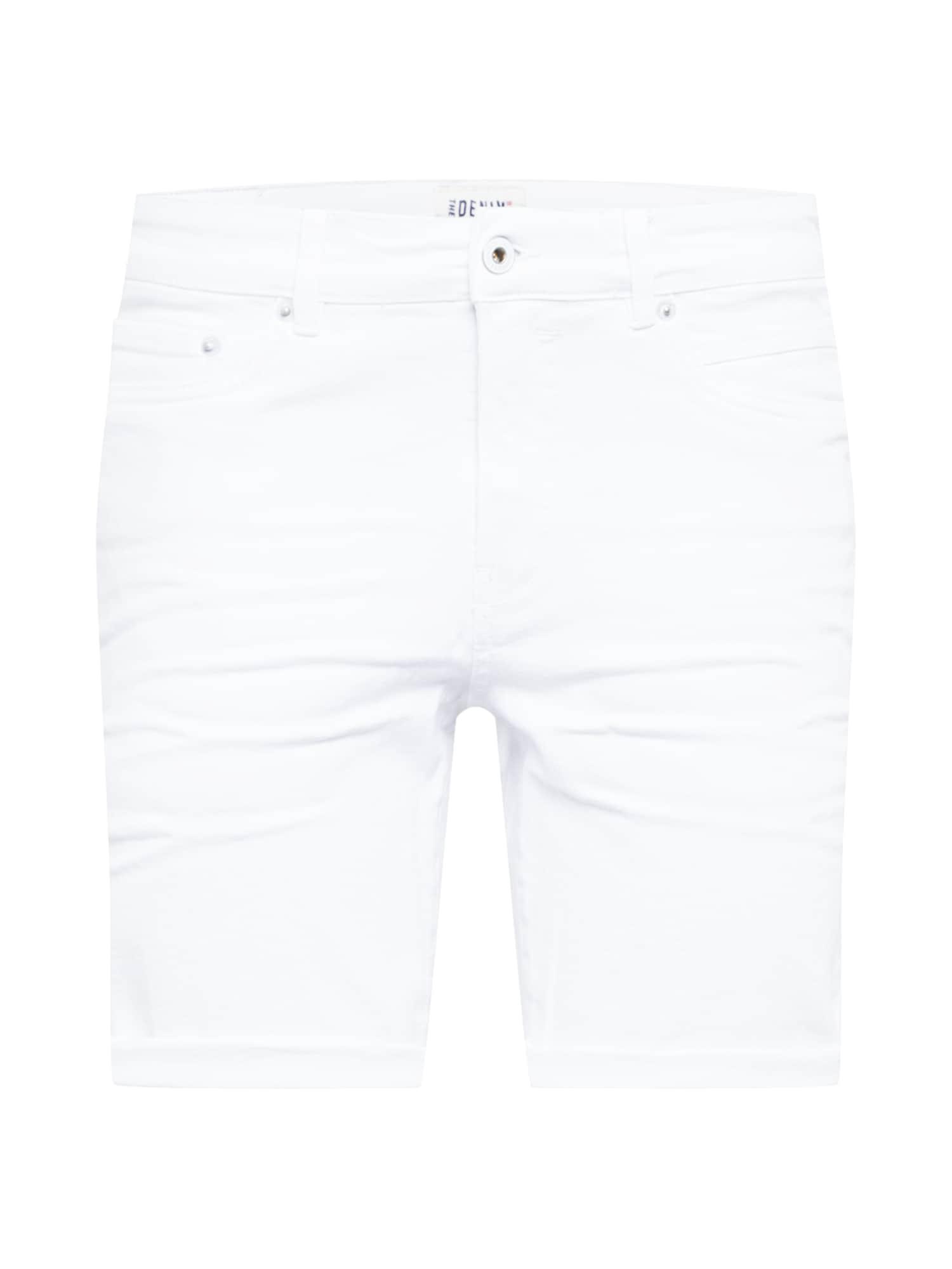 !Solid Džinsai balto džinso spalva