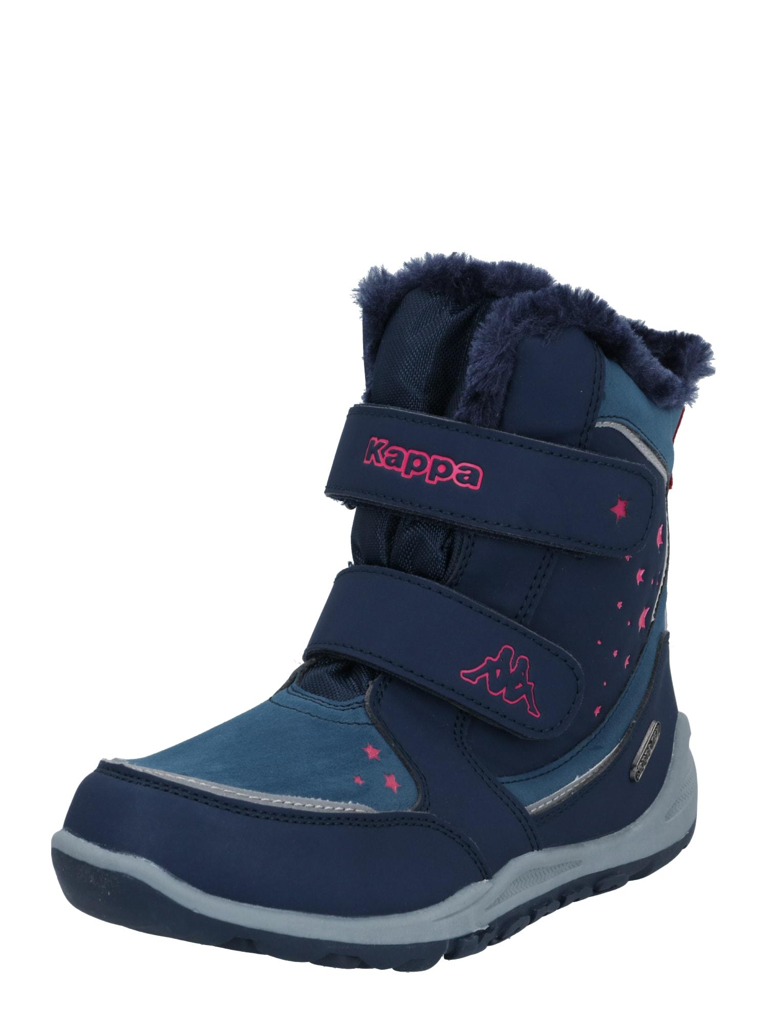 KAPPA Sniego batai tamsiai mėlyna / rožinė