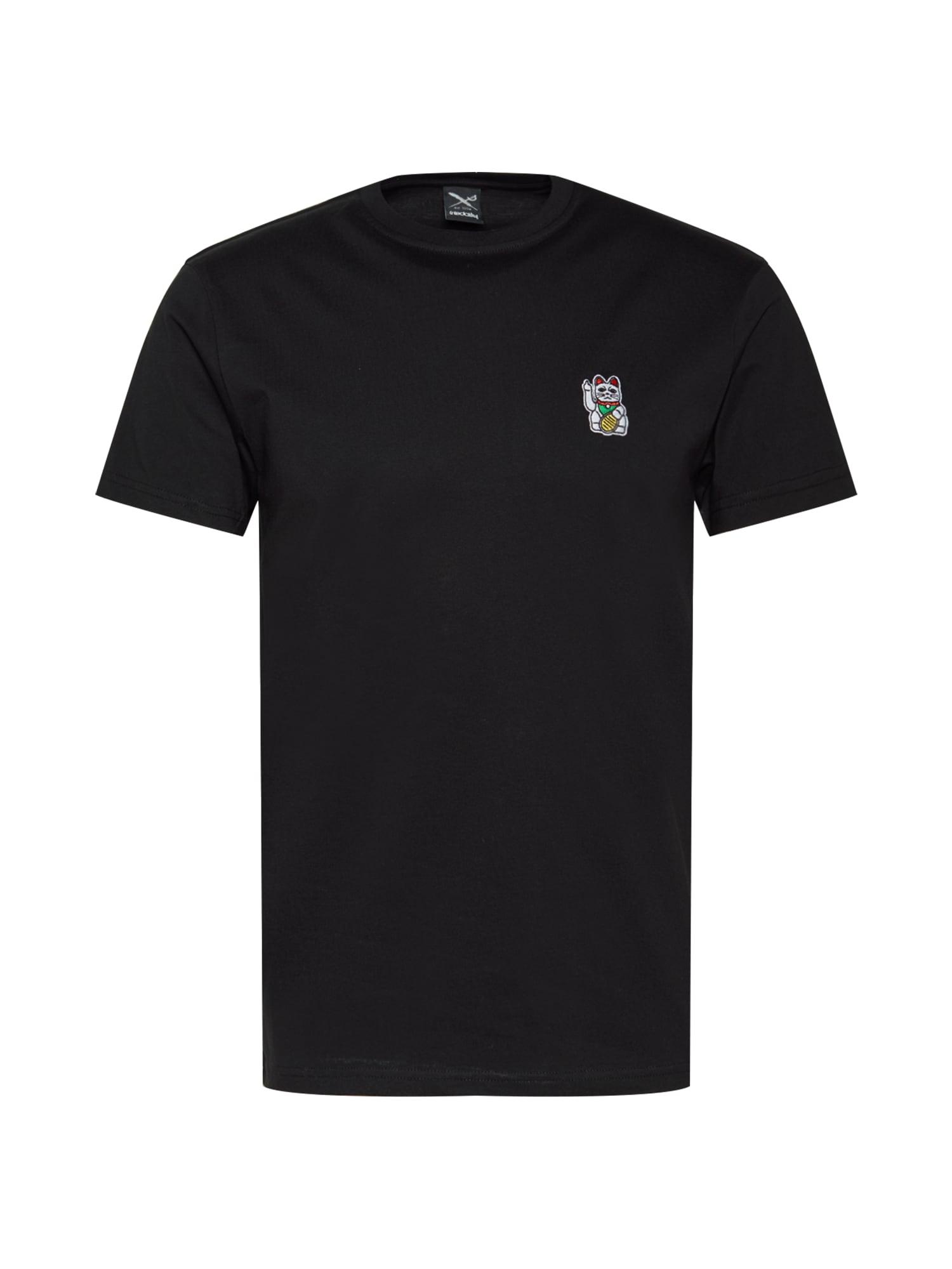 Iriedaily Marškinėliai juoda / mišrios spalvos