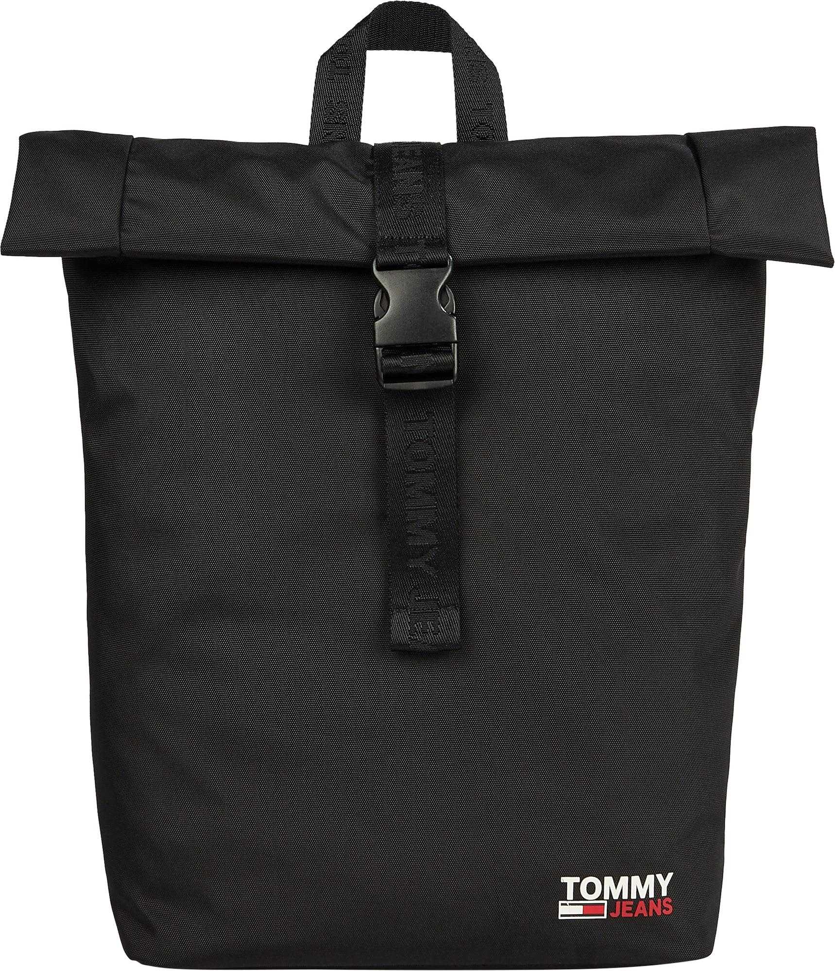 Tommy Jeans Batoh  černá / bílá / červená