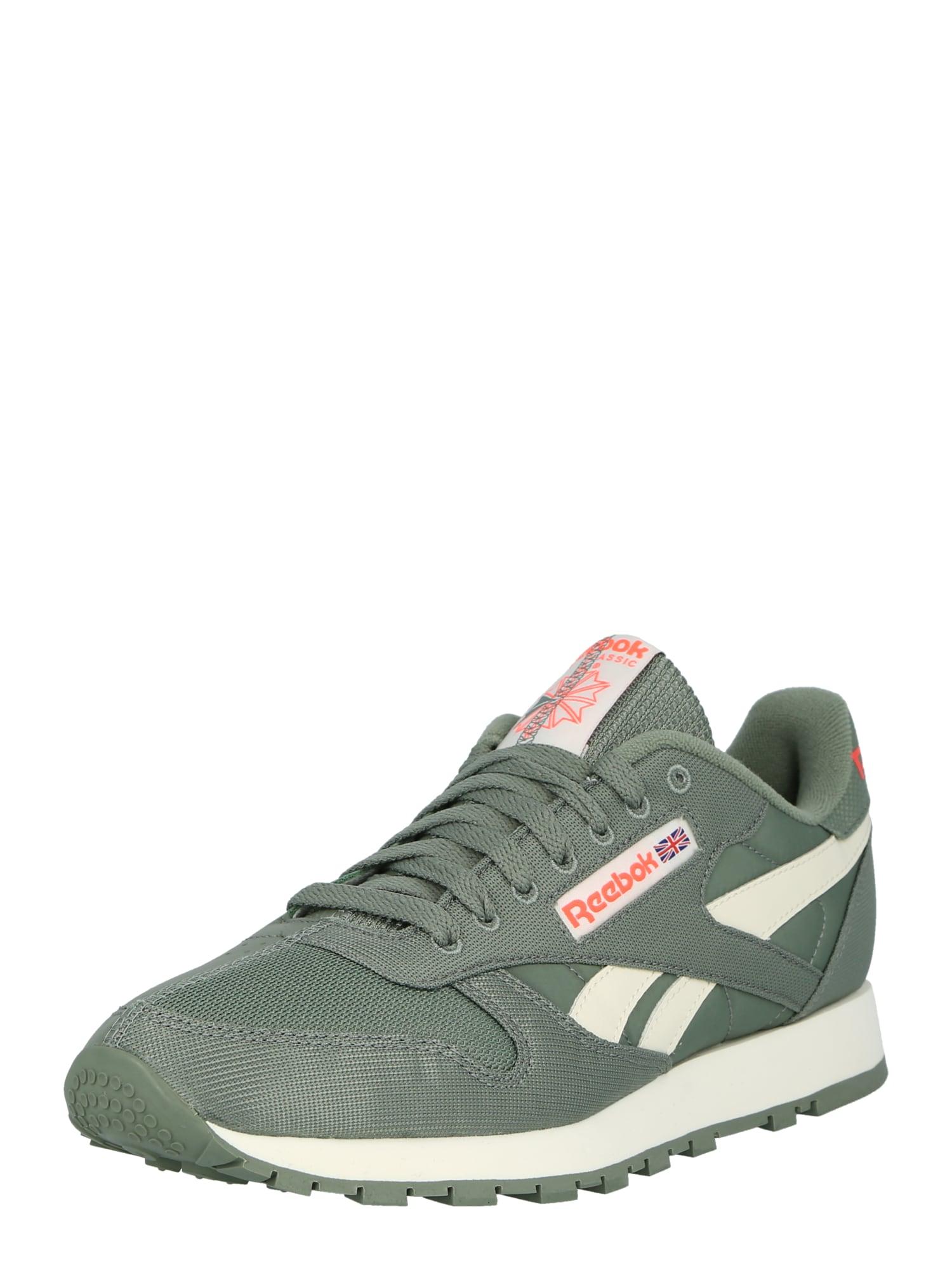 Reebok Classic Športová obuv  pastelovo zelená / neónovo oranžová / biela