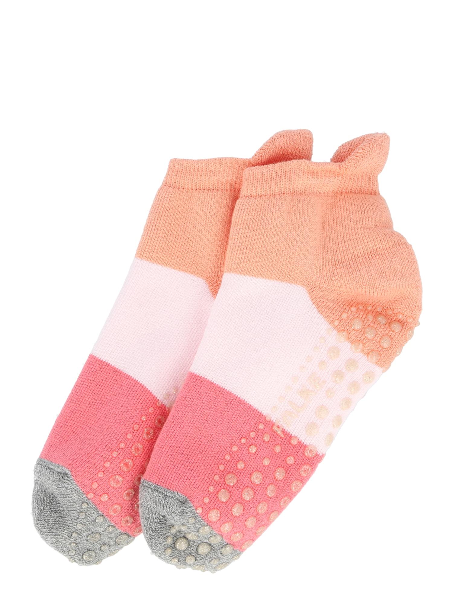 FALKE Kojinės abrikosų spalva / rožių spalva / koralų splava / margai pilka