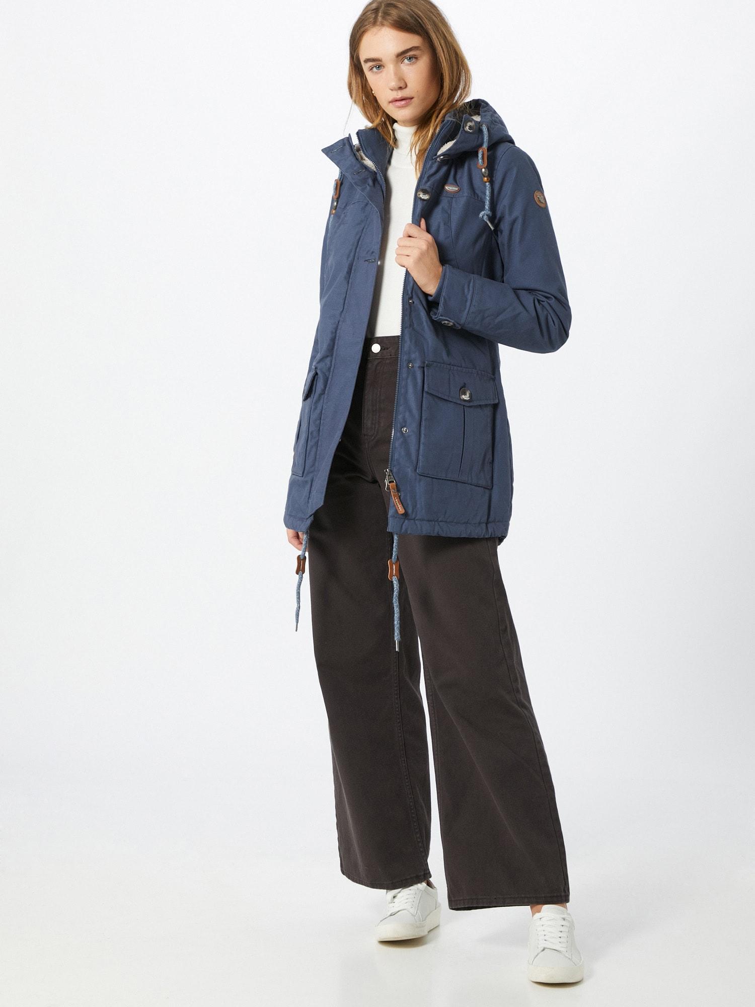 Ragwear Zimný kabát 'Jane'  modrá.