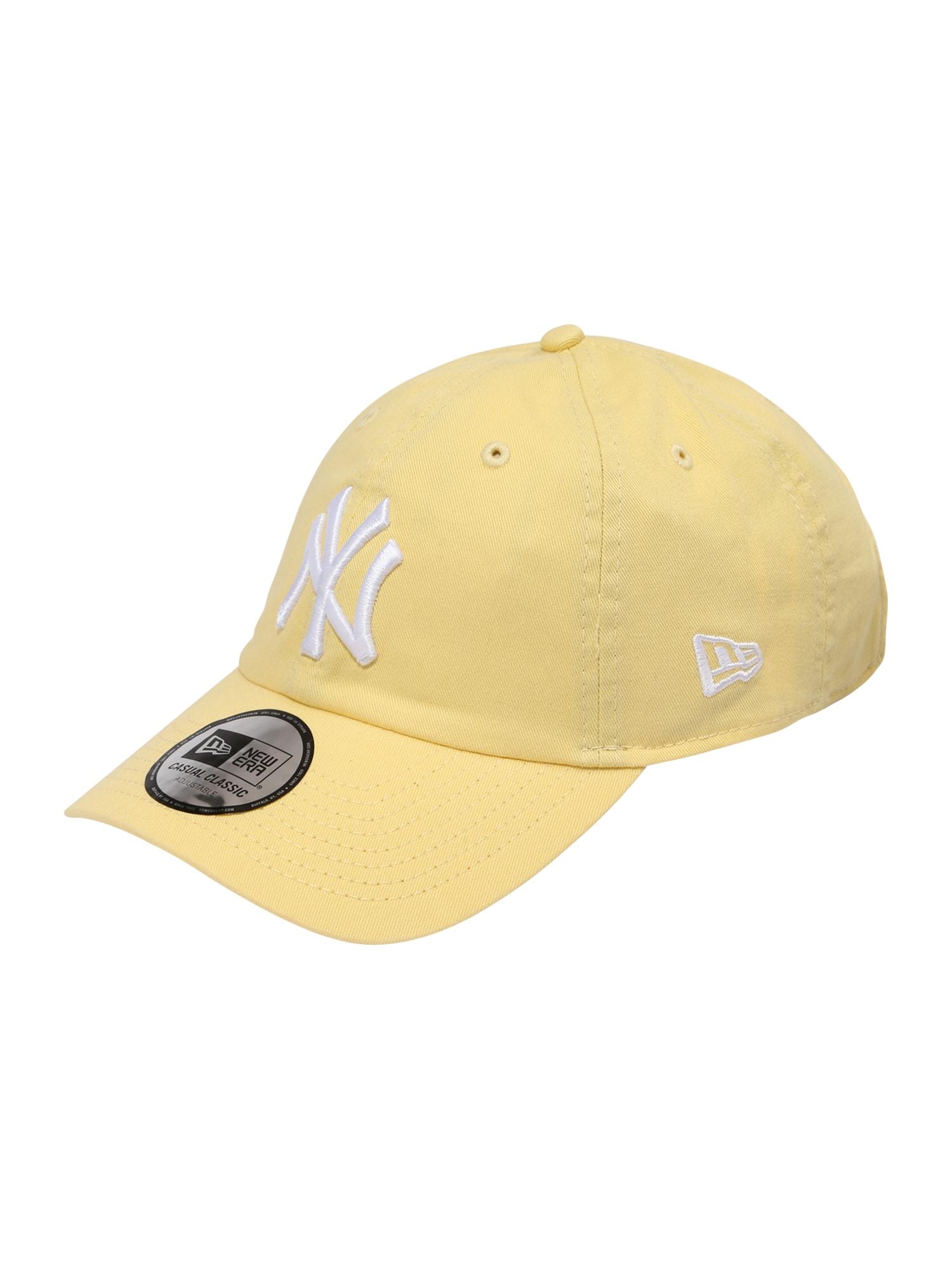 NEW ERA Kepurė balta / šviesiai geltona