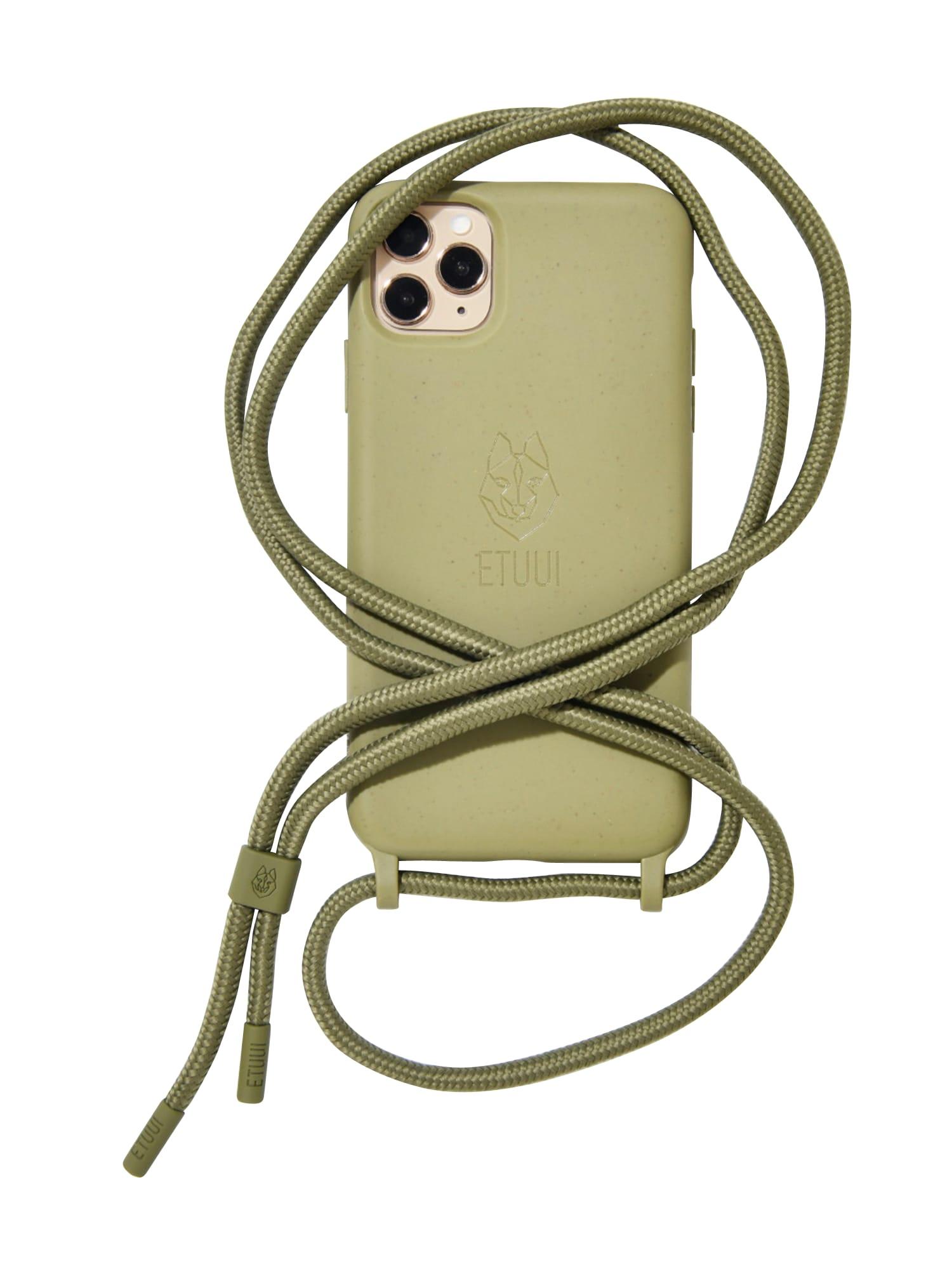 ETUUI Išmaniojo telefono dėklas rusvai žalia