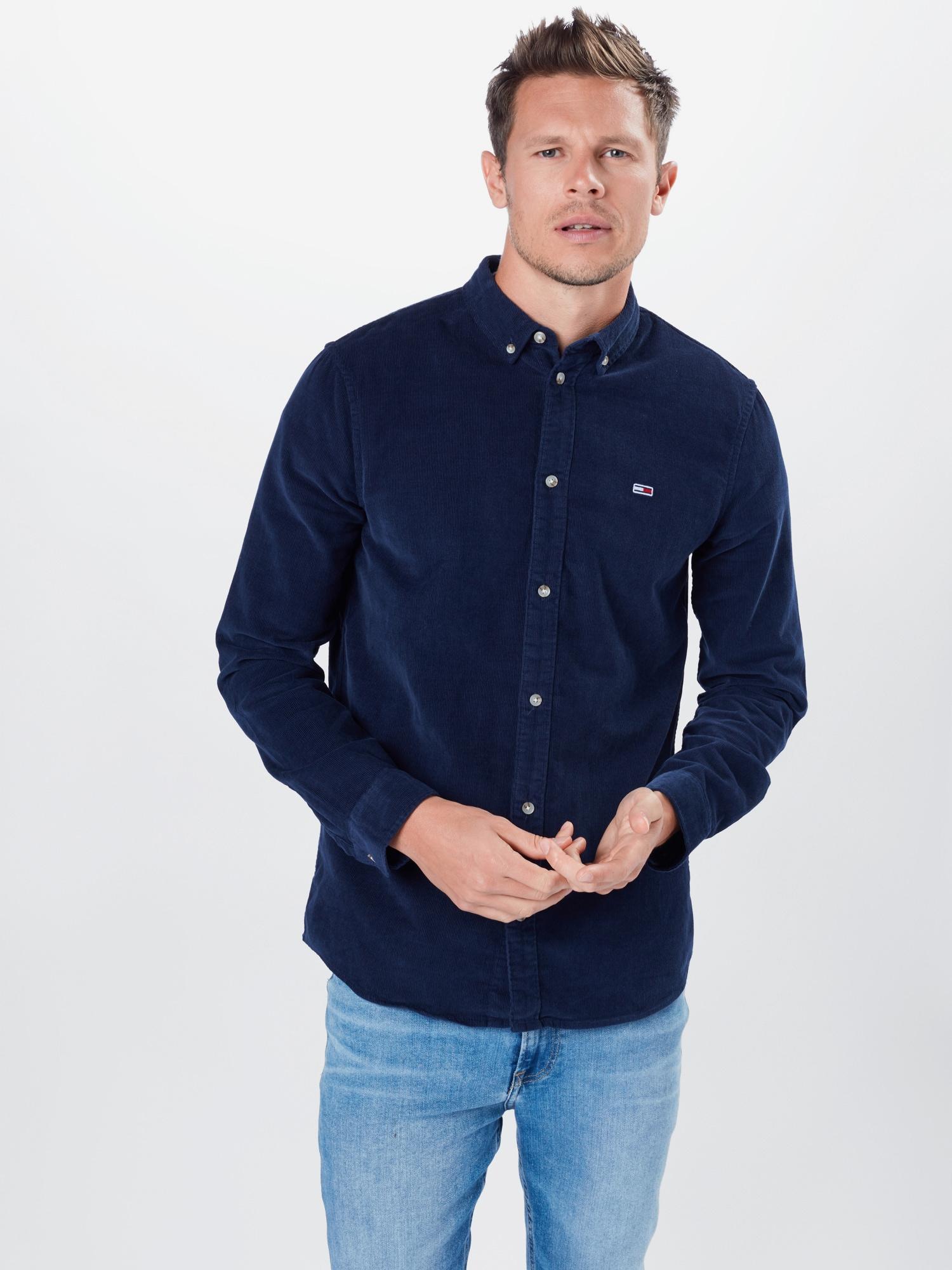 Tommy Jeans Skjorta  marinblå