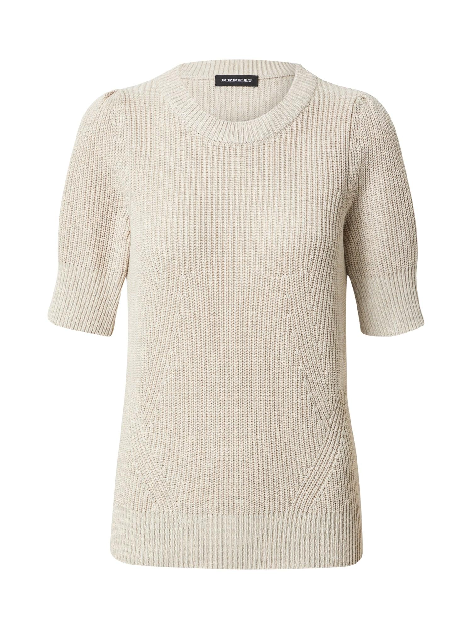 REPEAT Megztinis smėlio spalva
