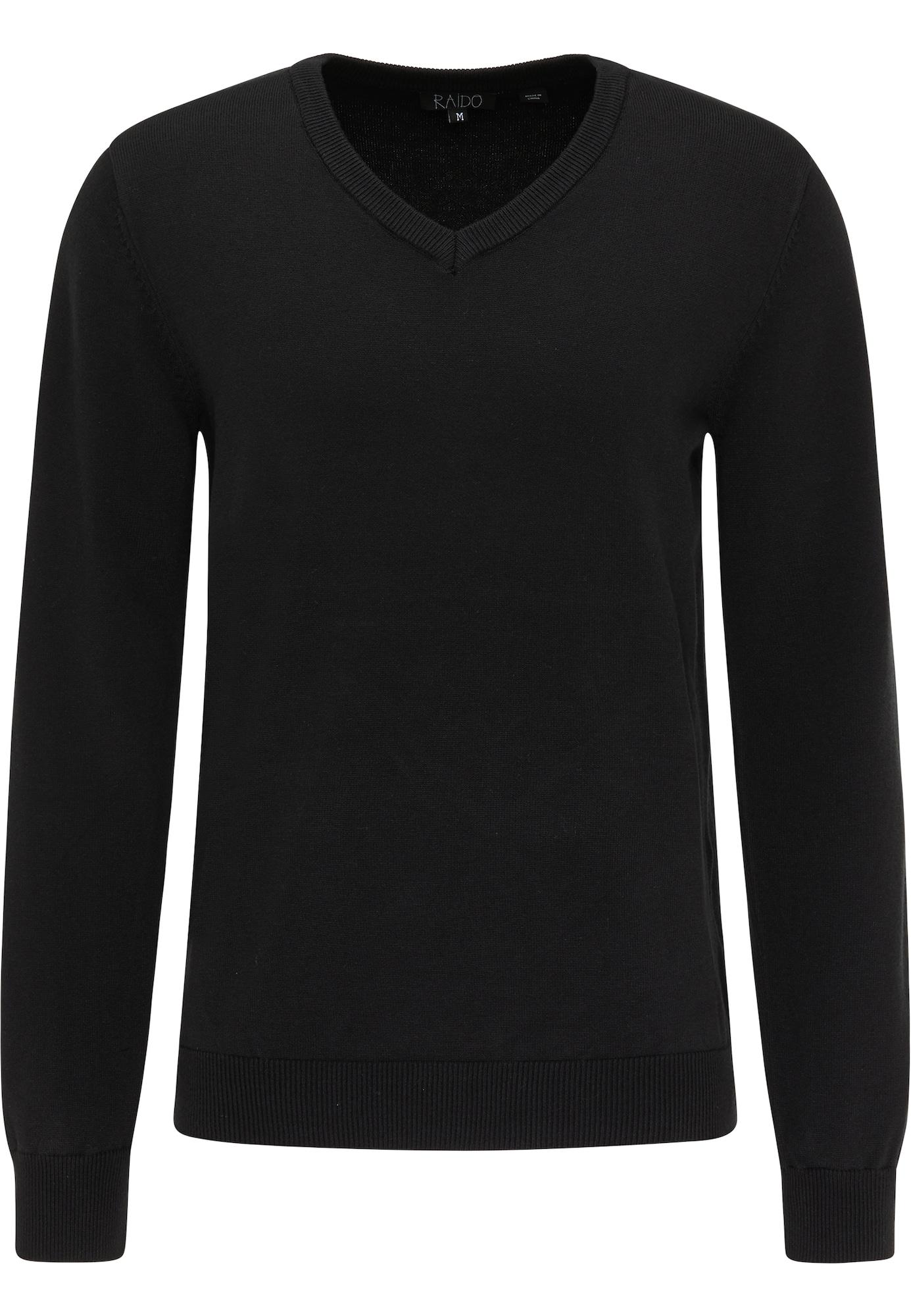 RAIDO Megztinis juoda