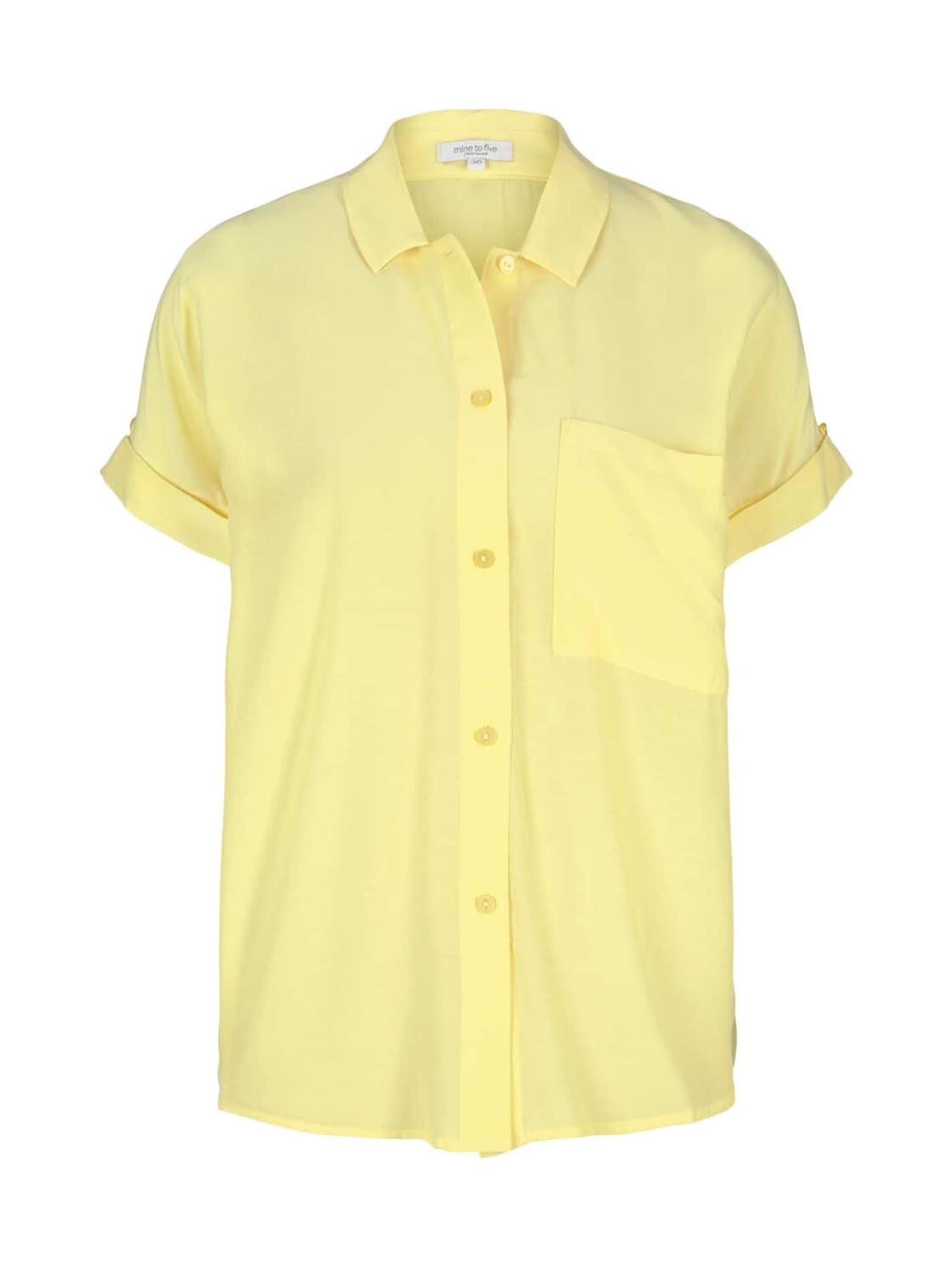 MINE TO FIVE Palaidinė šviesiai geltona