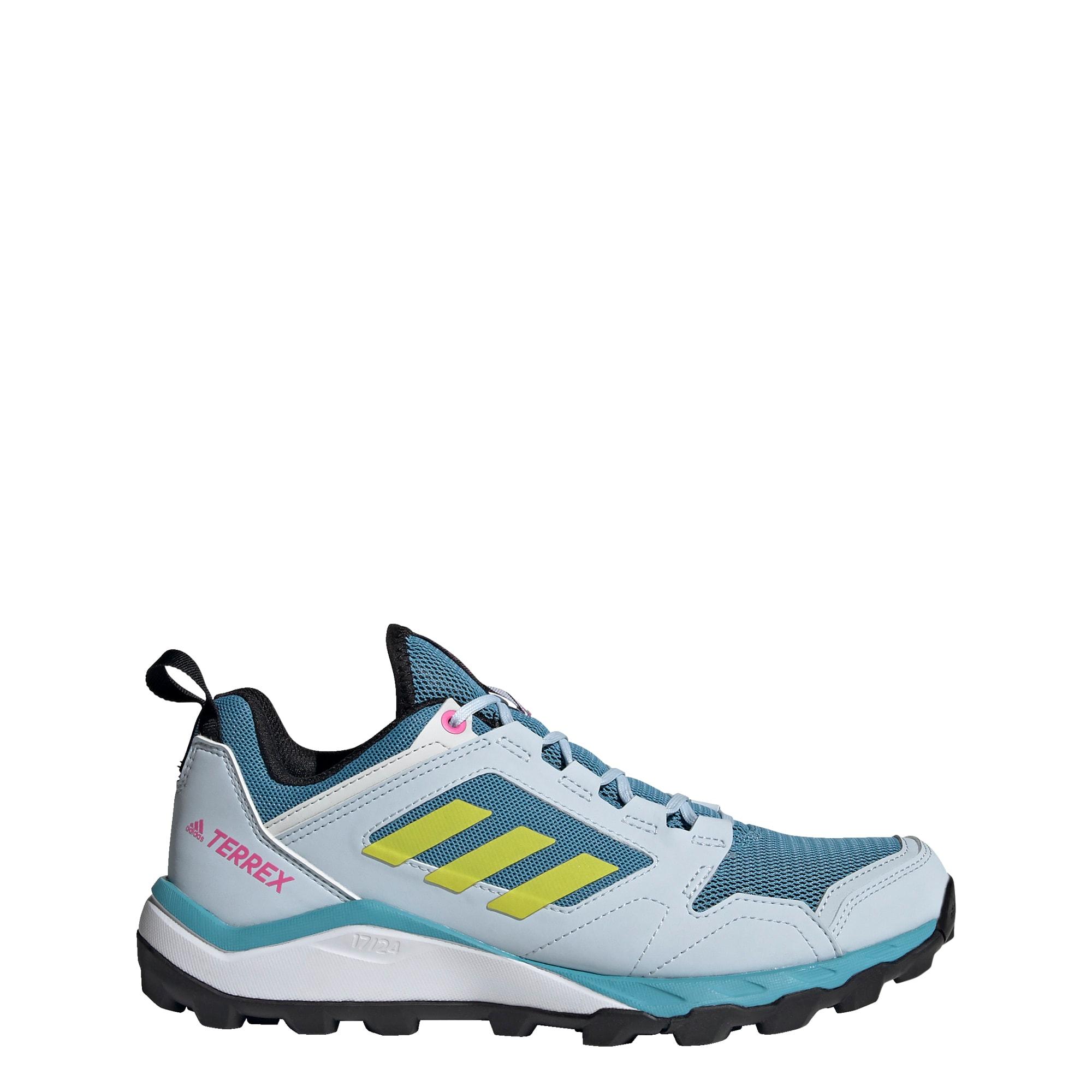 ADIDAS PERFORMANCE Běžecká obuv 'Terrex Agravic'  opálová / žlutá / pink / černá / kouřově modrá