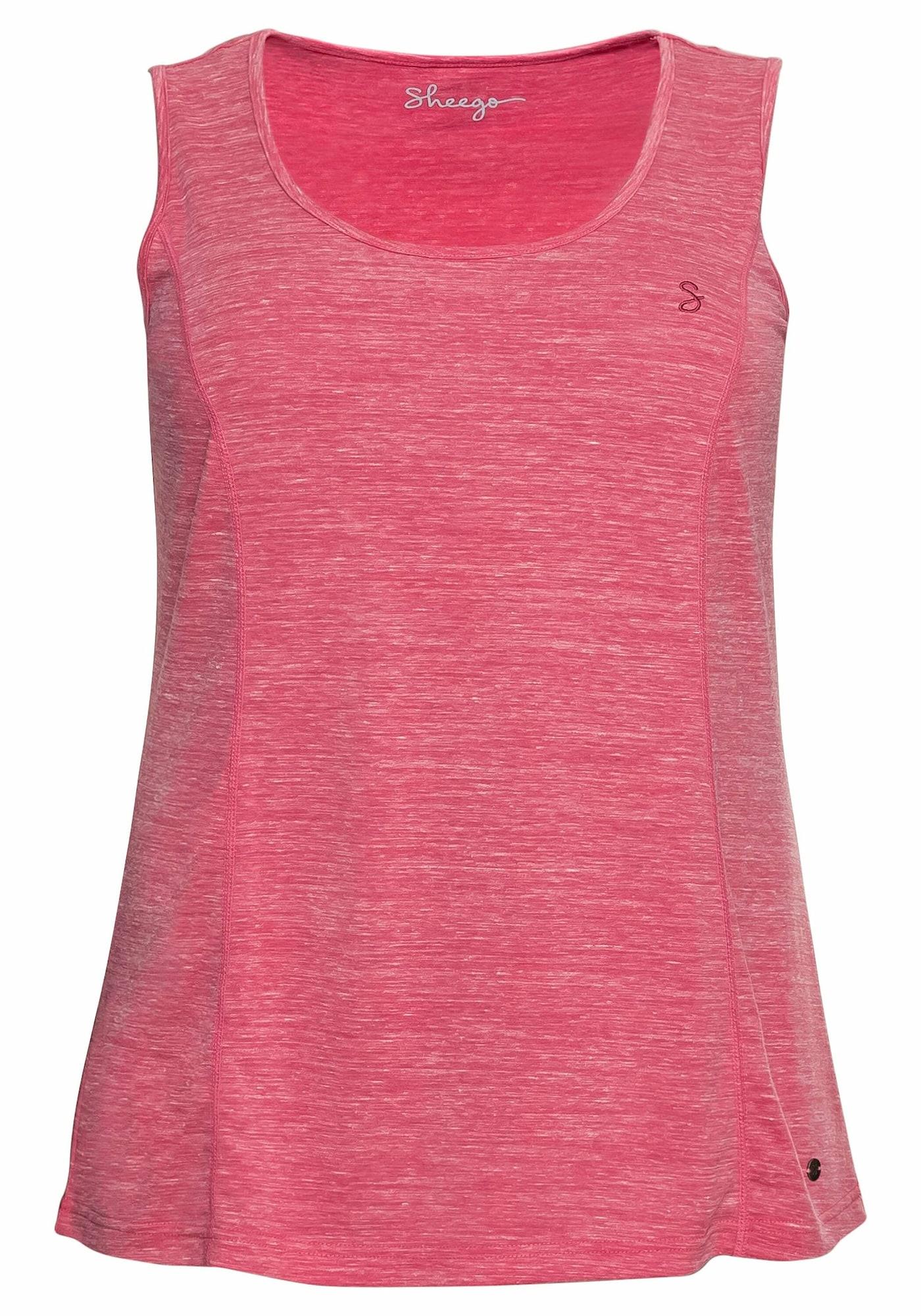 SHEEGO Sportovní top  pink