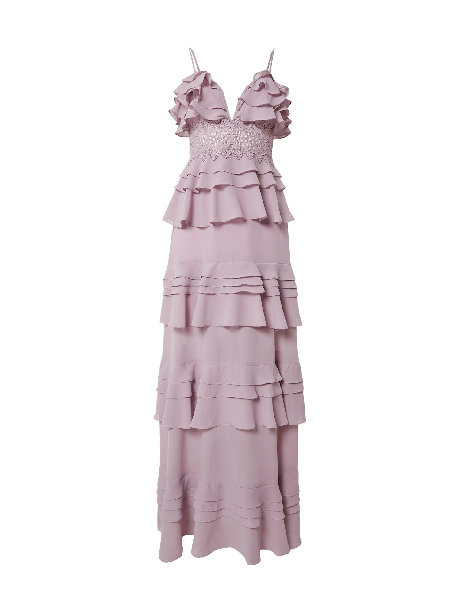 True Decadence Vakarinė suknelė purpurinė