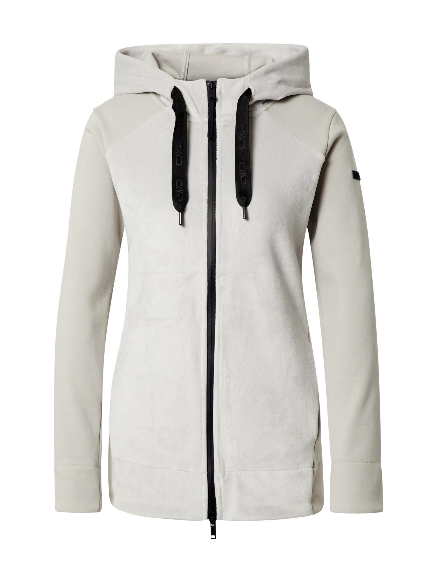 CMP Sportovní bunda  bílá / černá