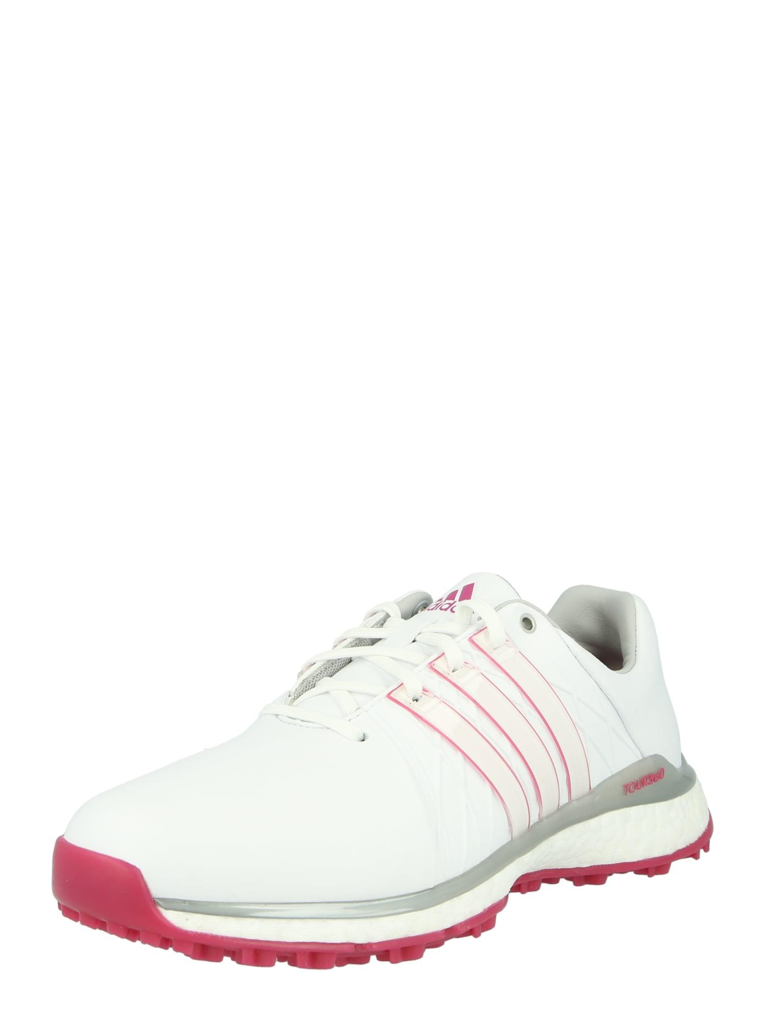 adidas Golf Sportiniai batai balta / tamsiai rožinė