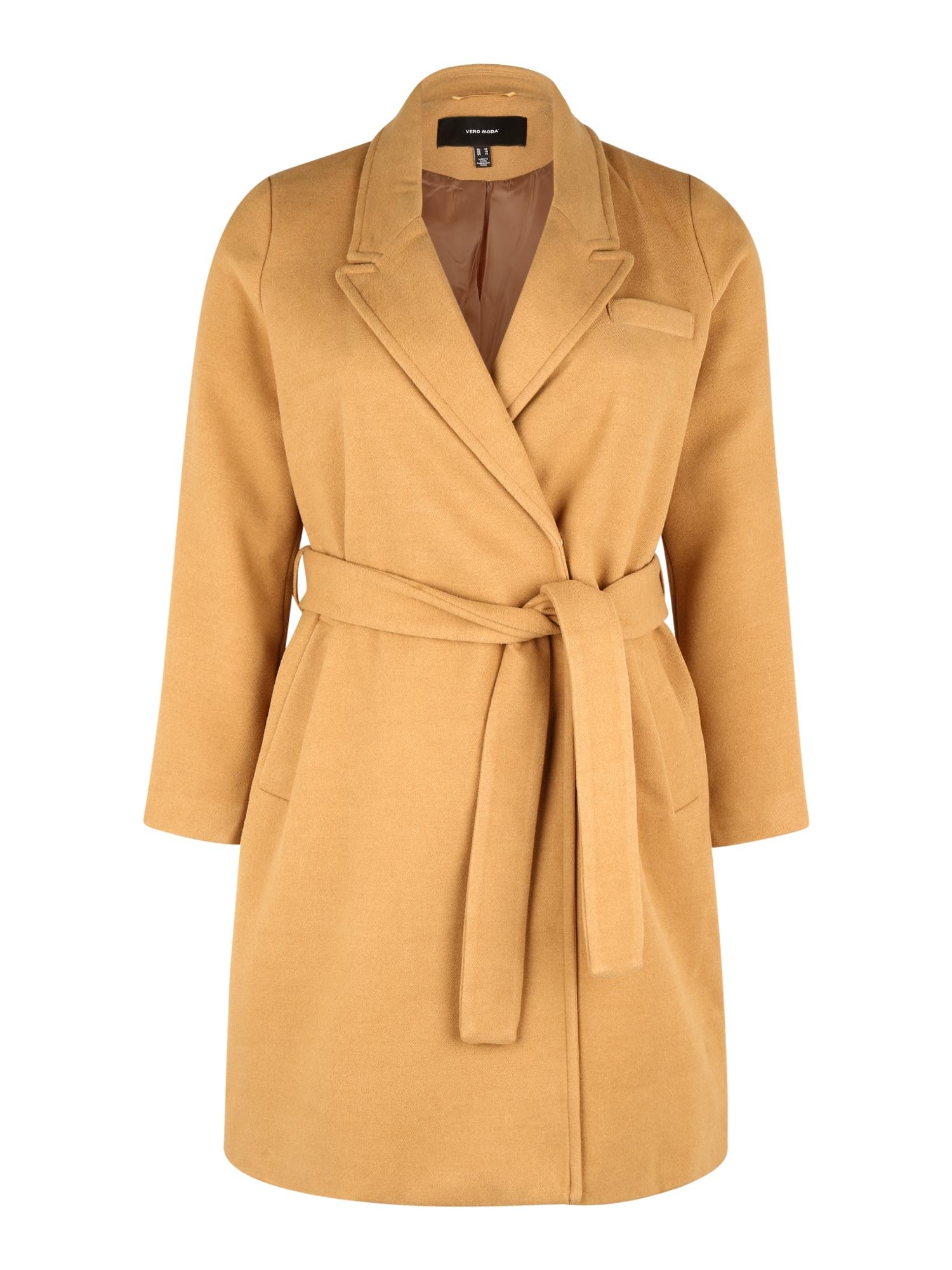 Vero Moda Curve Demisezoninis paltas ruda