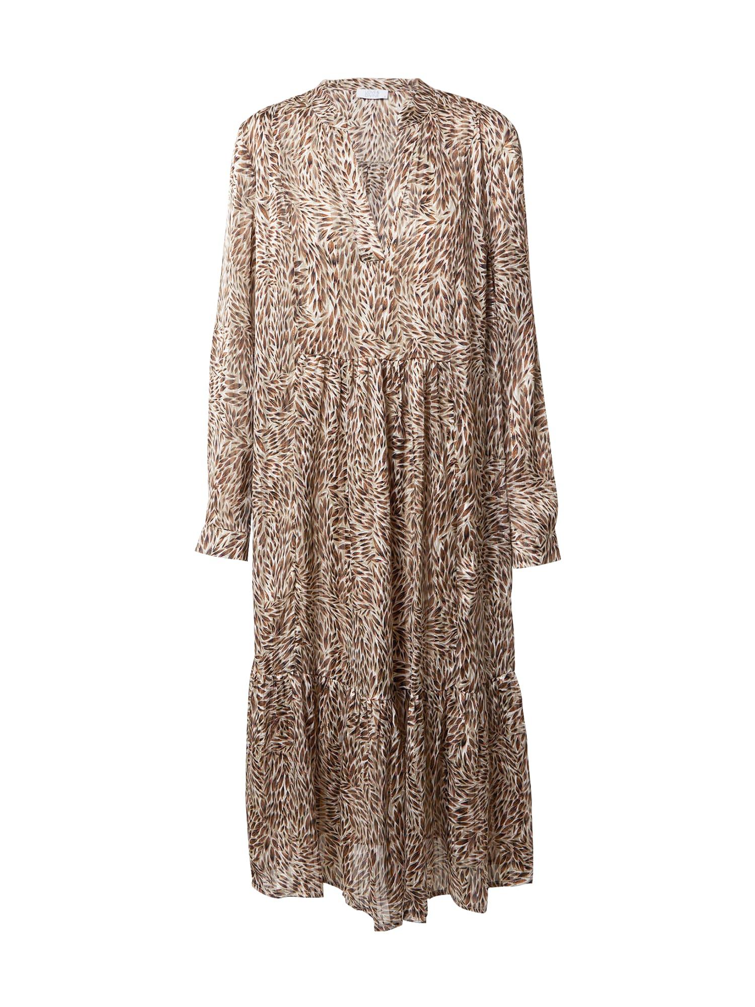 Love & Divine Suknelė smėlio / ruda