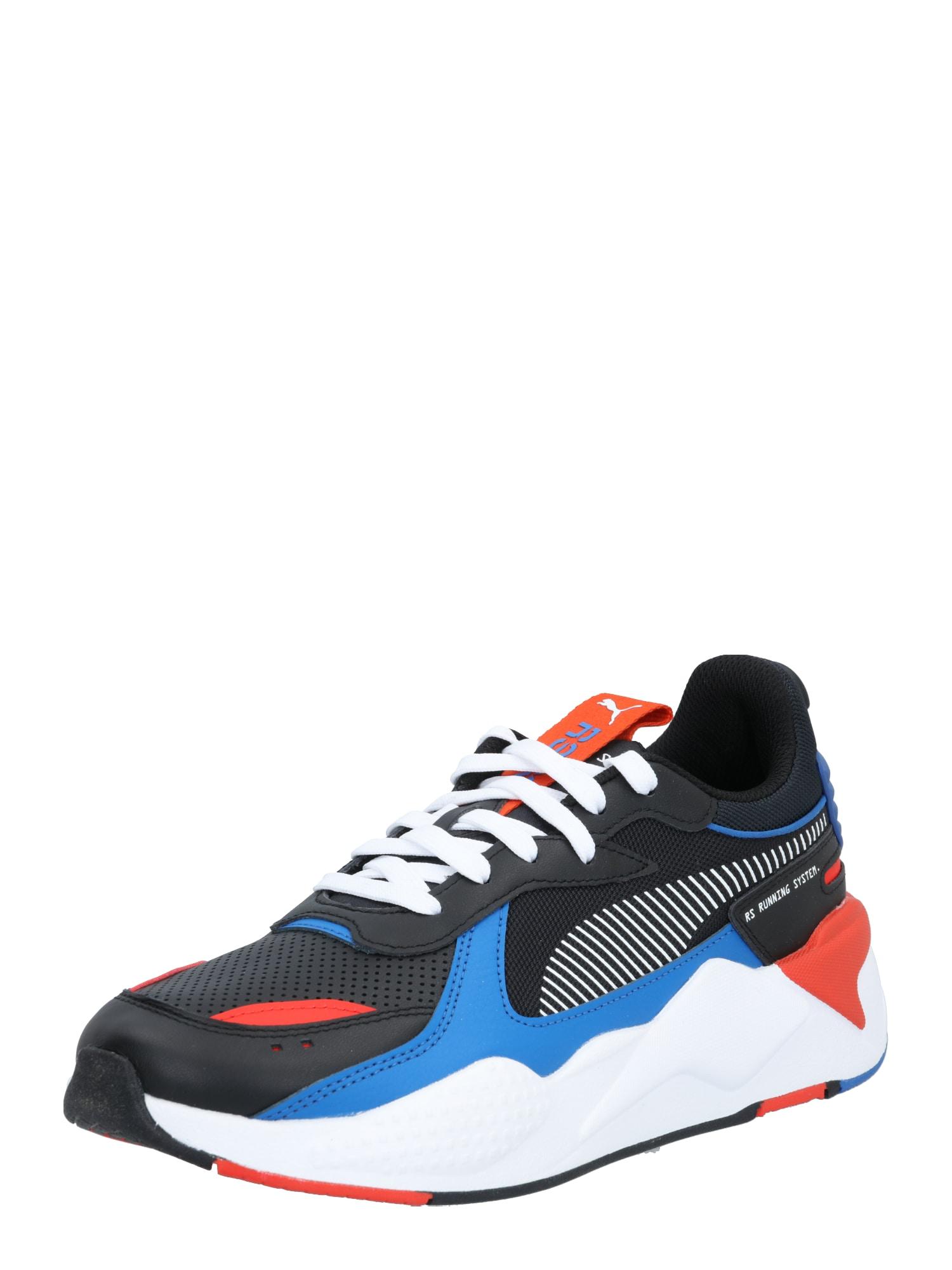 PUMA Tenisky 'WINTERIZED'  červená / černá / modrá / bílá