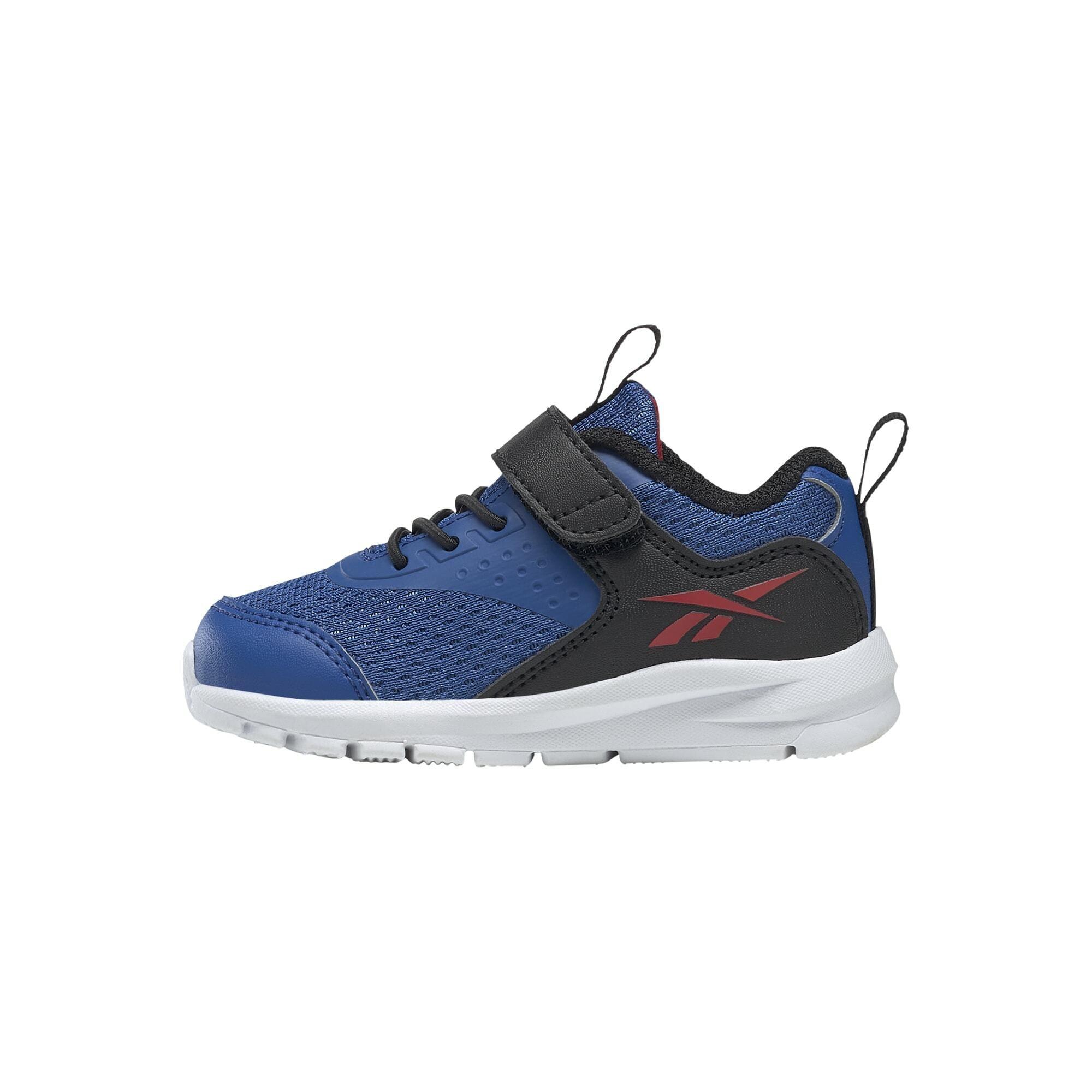 """REEBOK Sportiniai batai 'Rush Runner' sodri mėlyna (""""karališka"""") / juoda / karmino raudona"""