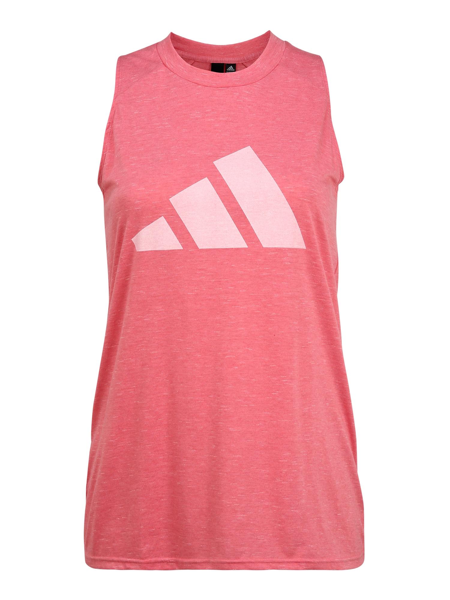 ADIDAS PERFORMANCE Sportiniai marškinėliai be rankovių rožinė / rožių spalva
