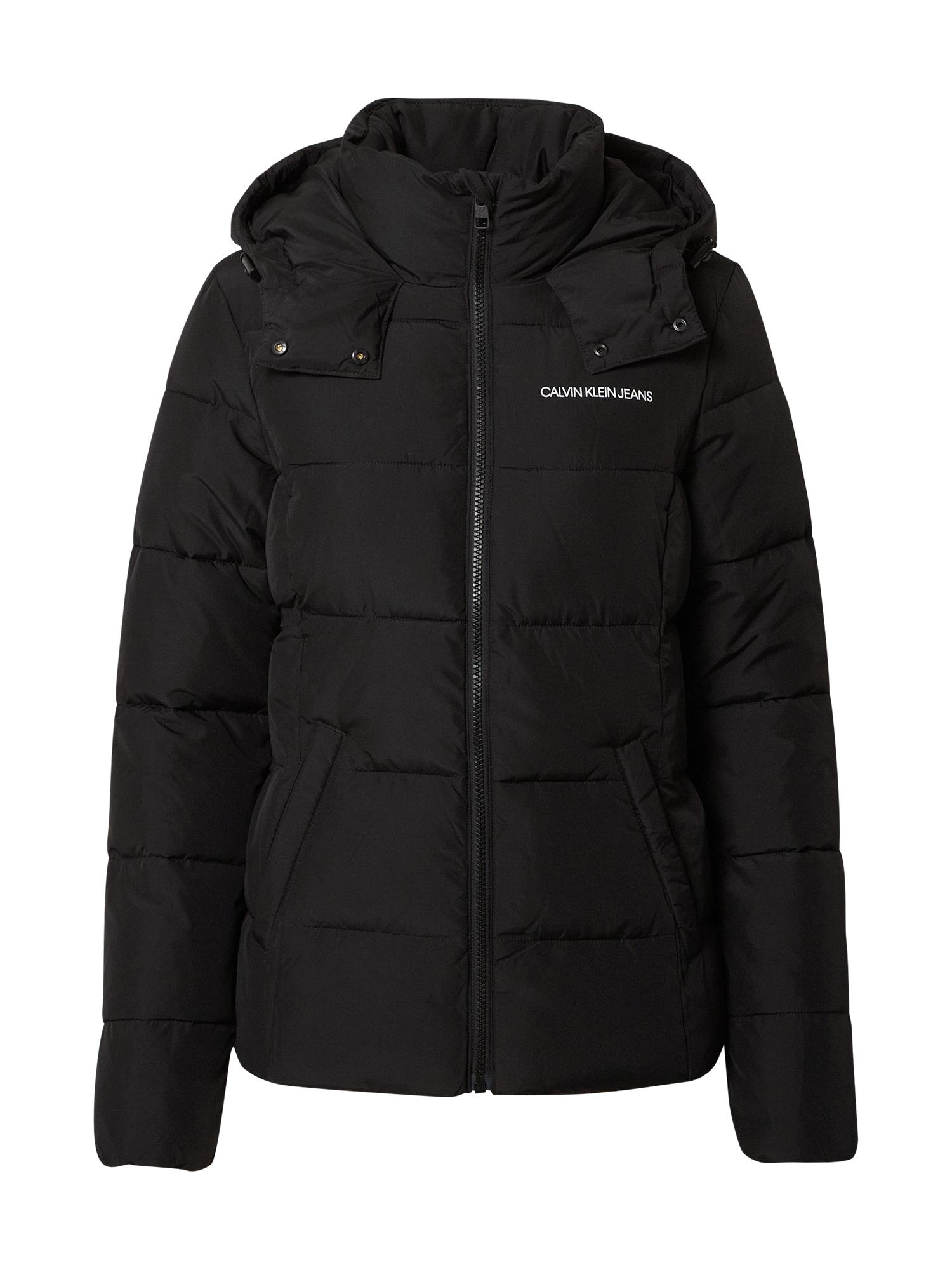 Calvin Klein Přechodná bunda 'Essential'  černá