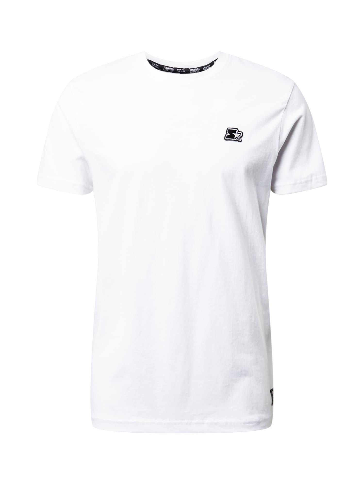 Starter Black Label Marškinėliai balkšva / juoda