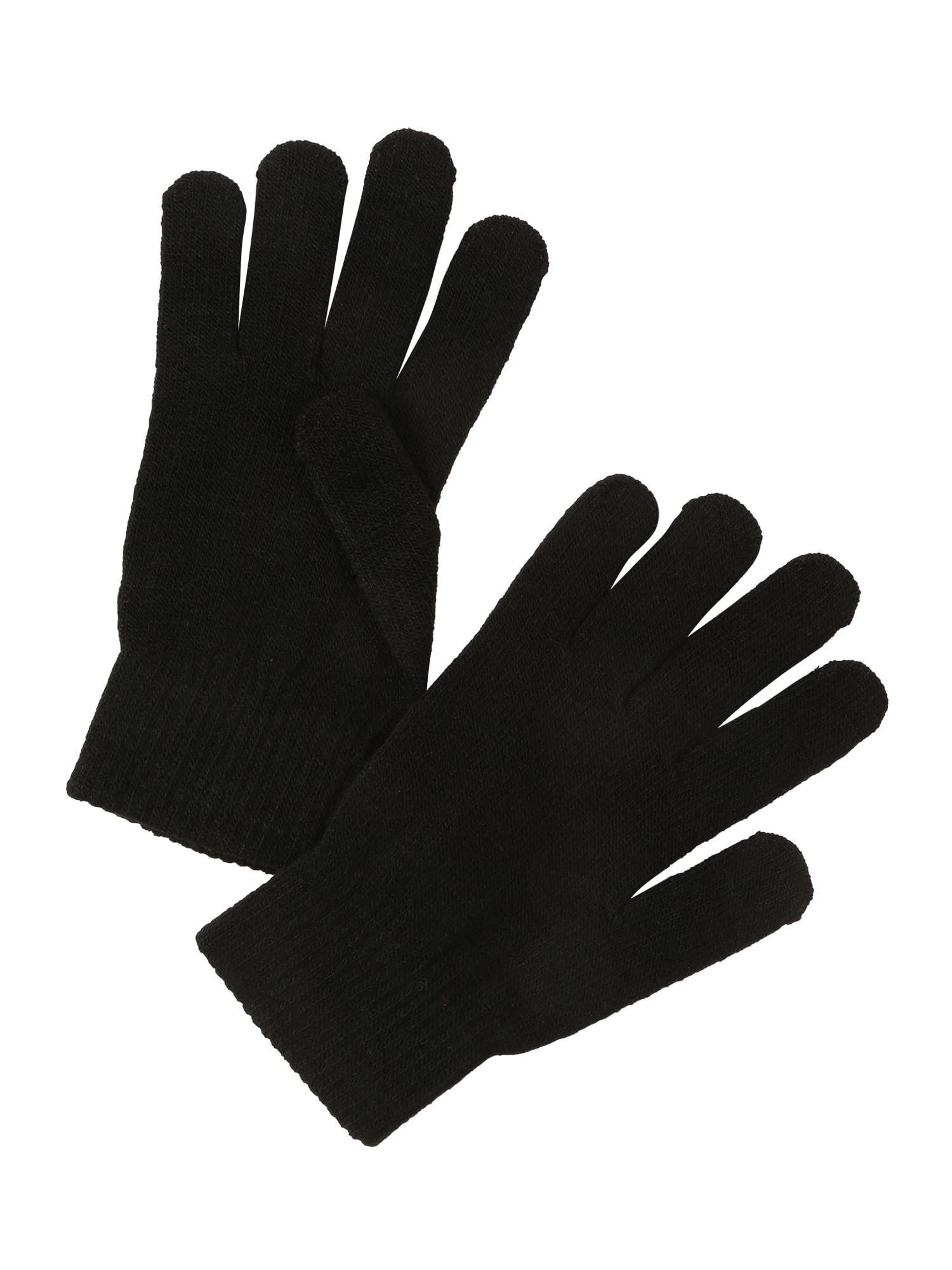 ONLY Prstové rukavice 'Aline'  černá