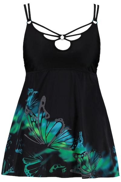 Bademode - Badeanzug mit Schmetterlings Motiv › Ulla Popken › mehrfarbig  - Onlineshop ABOUT YOU